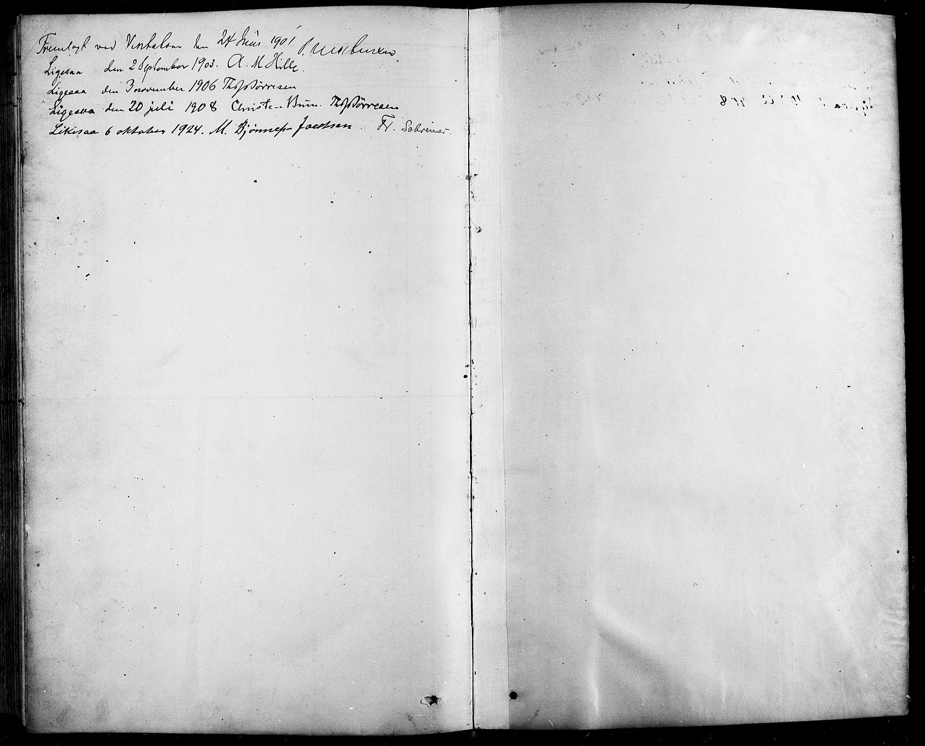 SAH, Sel prestekontor, Klokkerbok nr. 1, 1894-1923