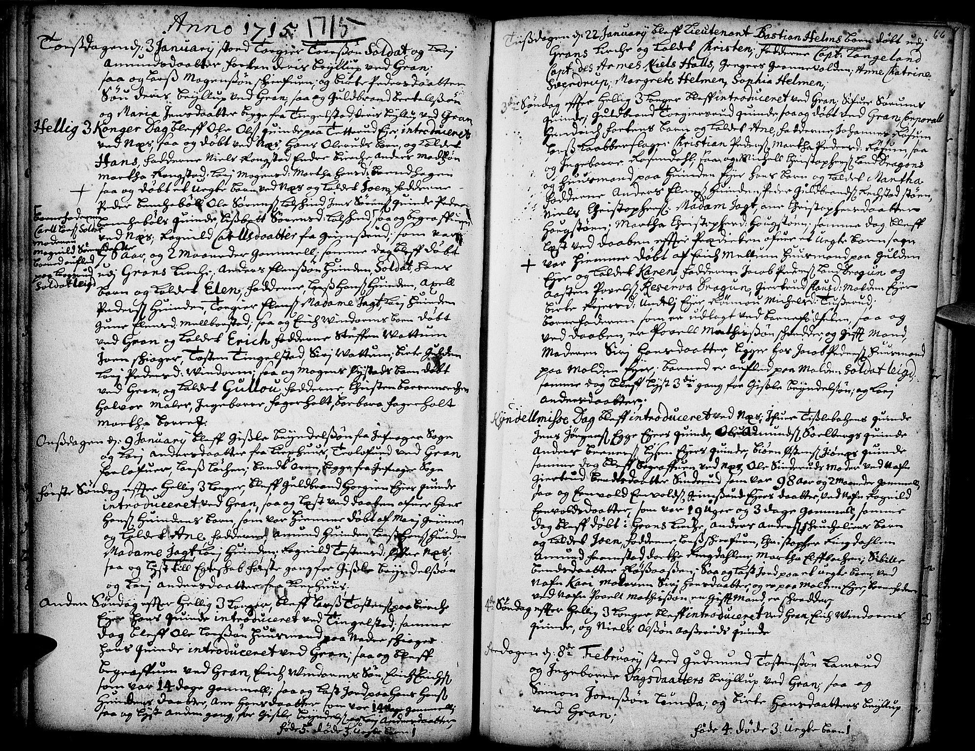 SAH, Gran prestekontor, Ministerialbok nr. 1, 1707-1731, s. 66