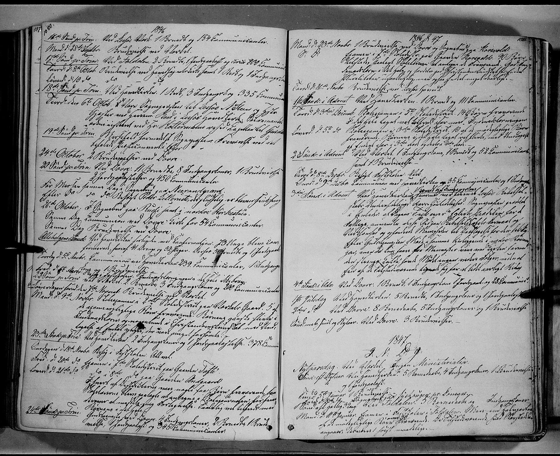 SAH, Lesja prestekontor, Ministerialbok nr. 6B, 1843-1854, s. 1080-1081