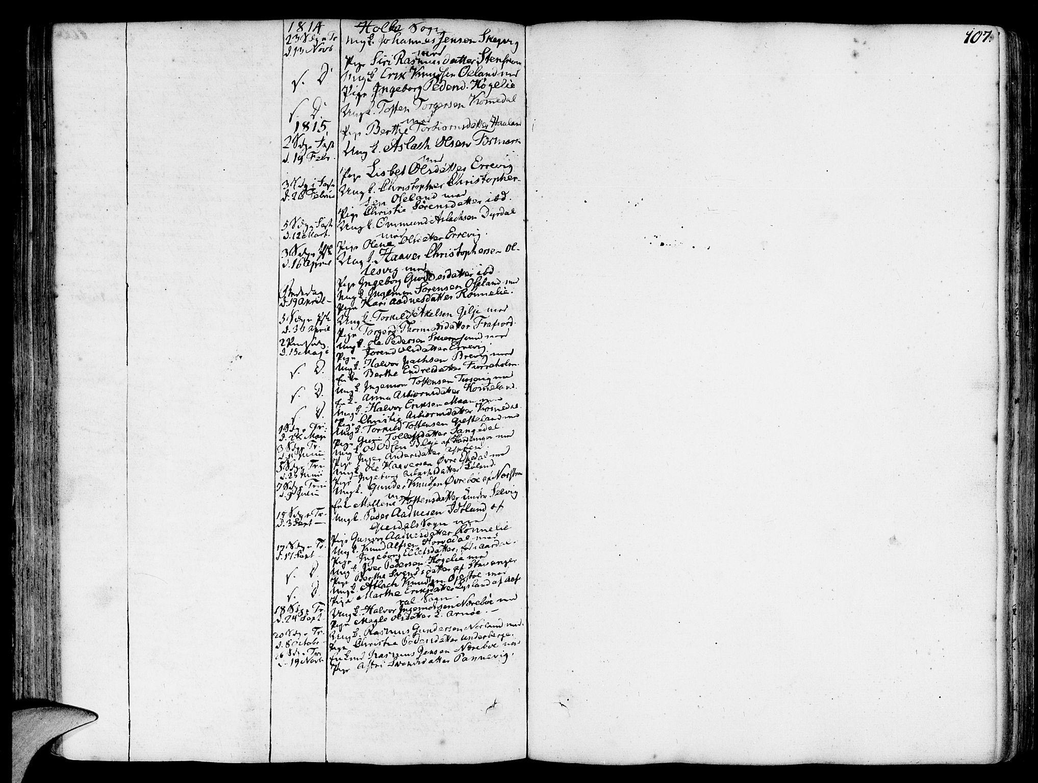 SAST, Strand sokneprestkontor, H/Ha/Haa/L0003: Ministerialbok nr. A 3, 1769-1816, s. 107