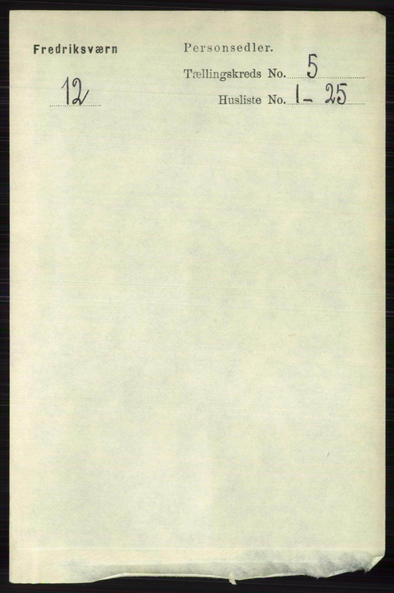 RA, Folketelling 1891 for 0798 Fredriksvern herred, 1891, s. 1032