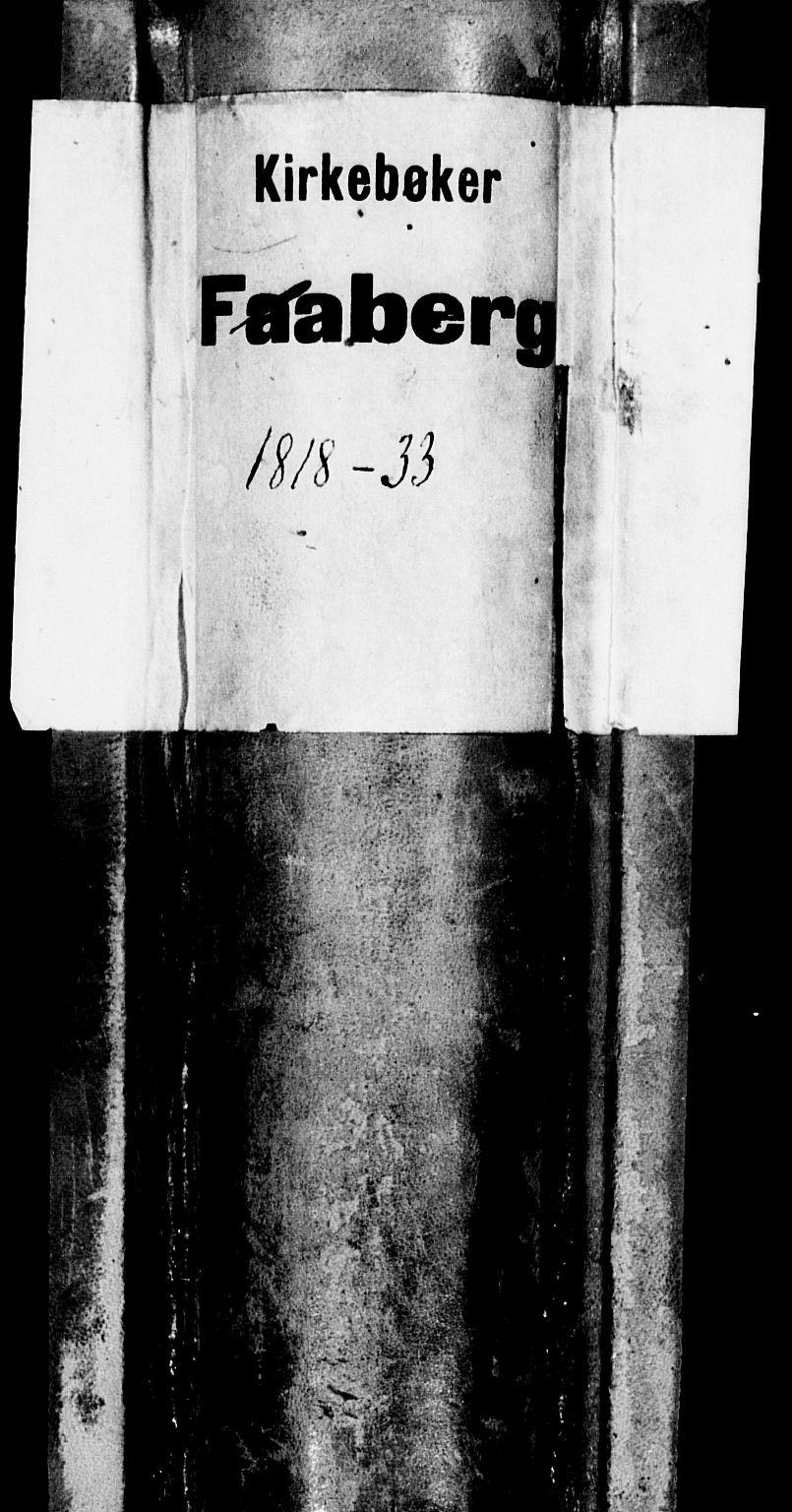 SAH, Fåberg prestekontor, Ministerialbok nr. 3, 1818-1833