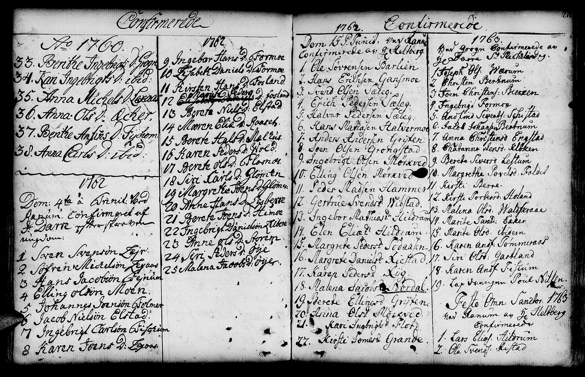 SAT, Ministerialprotokoller, klokkerbøker og fødselsregistre - Nord-Trøndelag, 764/L0542: Ministerialbok nr. 764A02, 1748-1779, s. 216