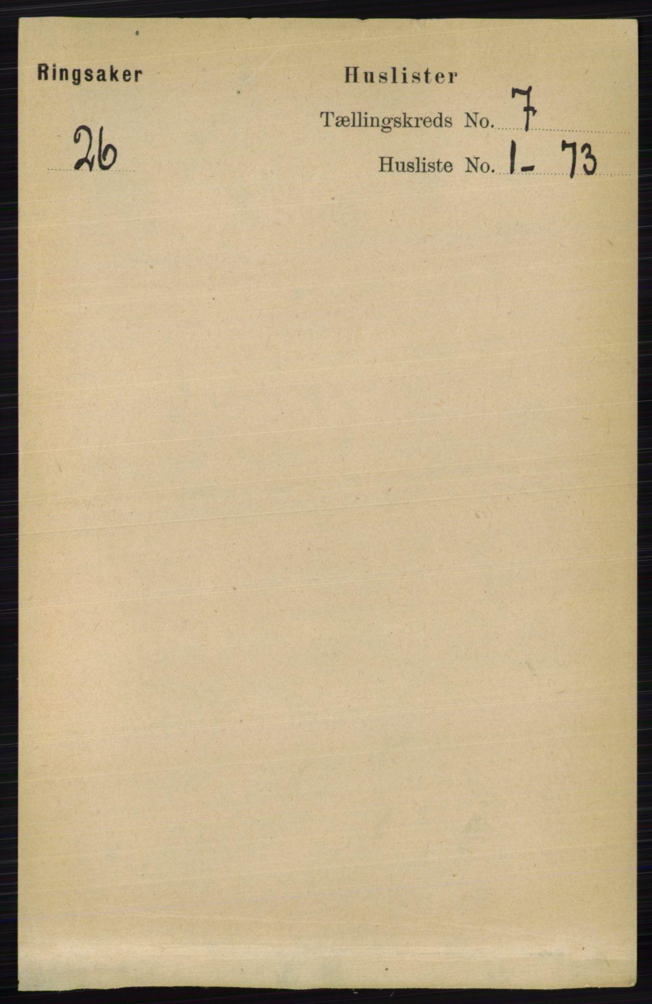 RA, Folketelling 1891 for 0412 Ringsaker herred, 1891, s. 3790