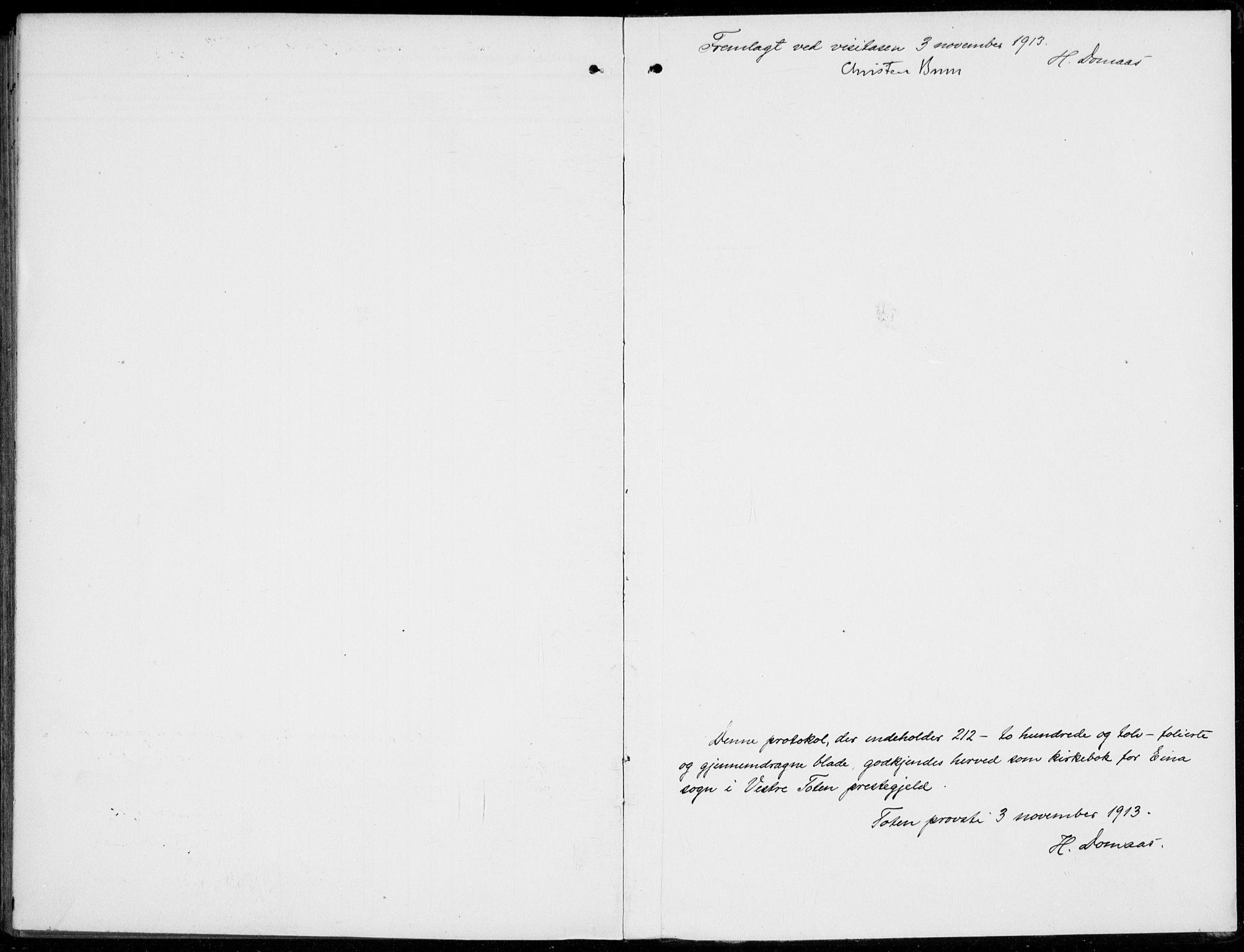 SAH, Kolbu prestekontor, Ministerialbok nr. 1, 1907-1923