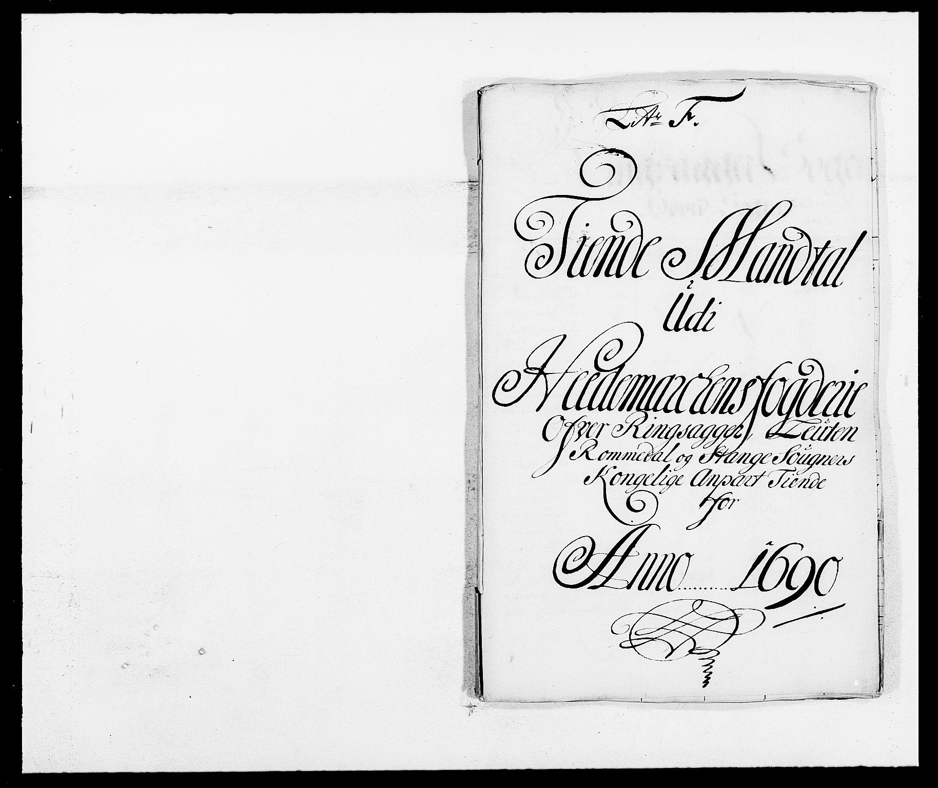 RA, Rentekammeret inntil 1814, Reviderte regnskaper, Fogderegnskap, R16/L1030: Fogderegnskap Hedmark, 1689-1691, s. 216