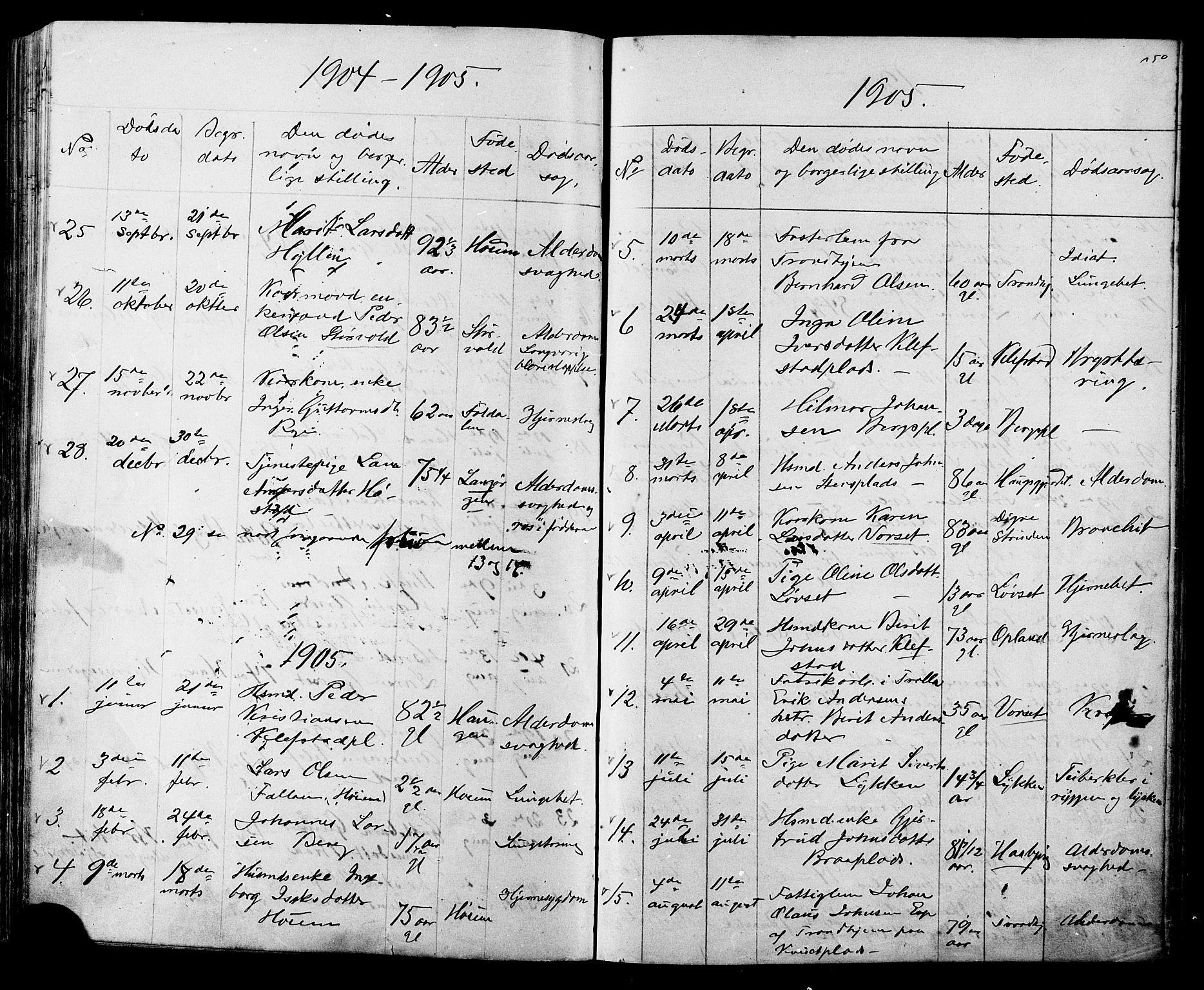 SAT, Ministerialprotokoller, klokkerbøker og fødselsregistre - Sør-Trøndelag, 612/L0387: Klokkerbok nr. 612C03, 1874-1908, s. 250