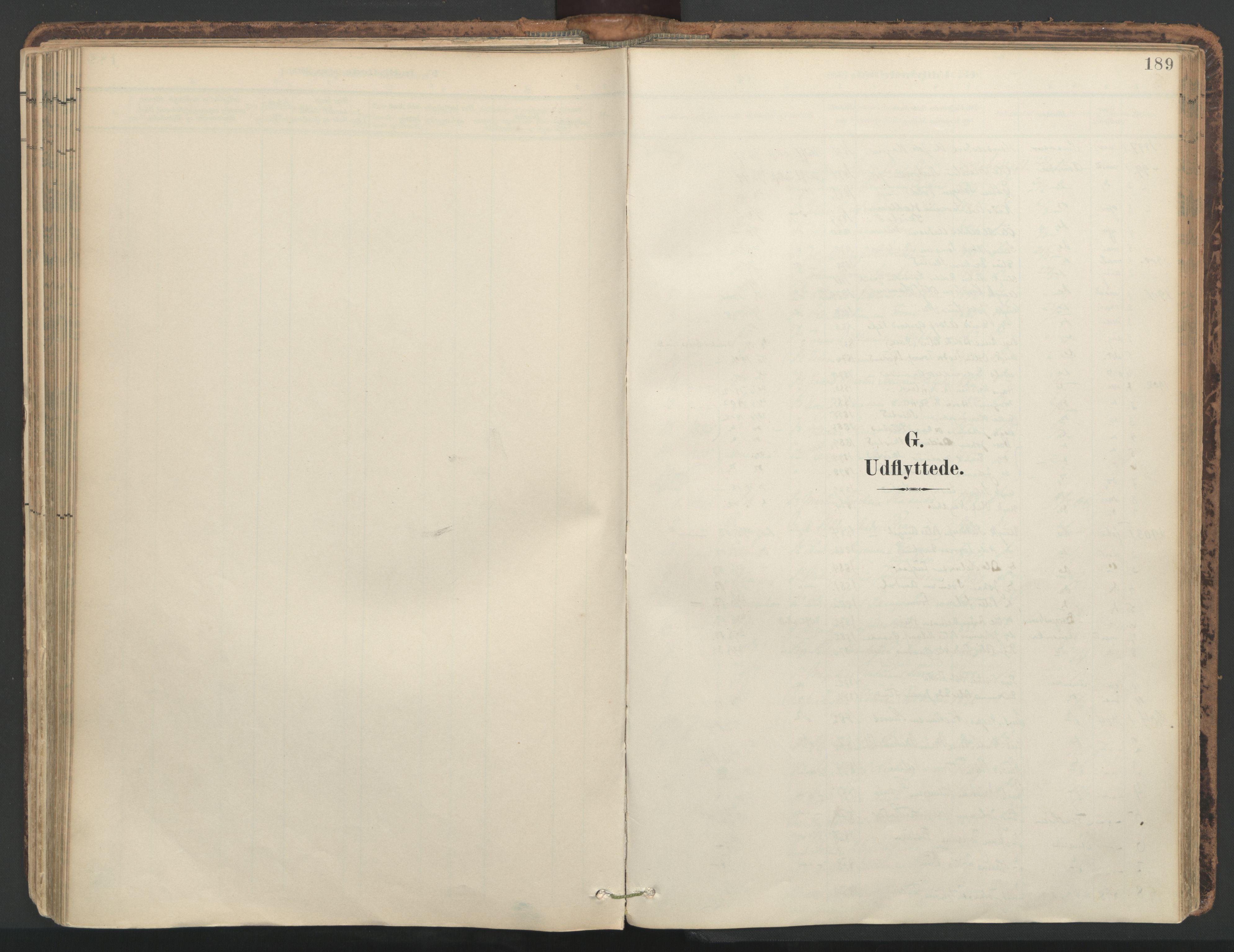 SAT, Ministerialprotokoller, klokkerbøker og fødselsregistre - Nord-Trøndelag, 764/L0556: Ministerialbok nr. 764A11, 1897-1924, s. 189