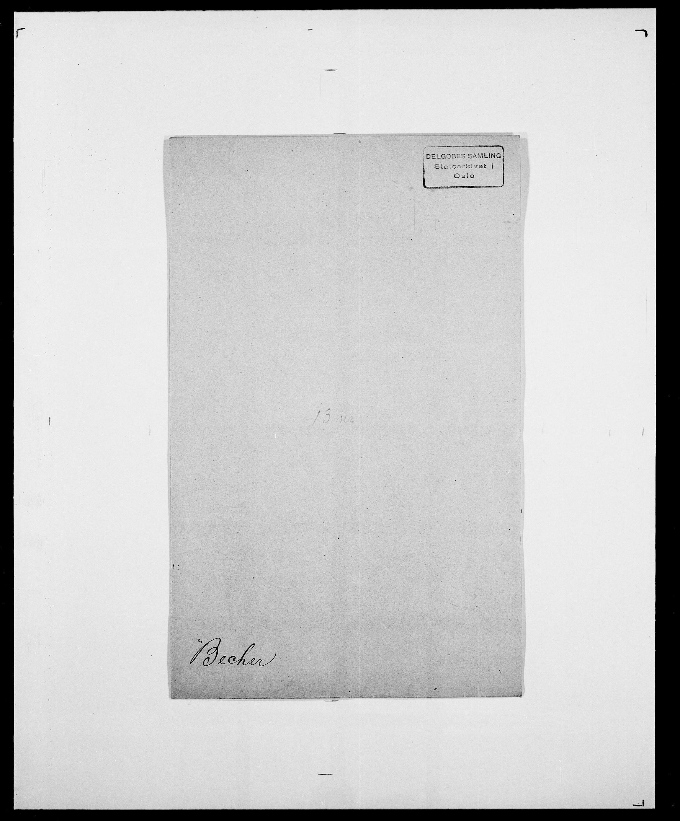 SAO, Delgobe, Charles Antoine - samling, D/Da/L0003: Barca - Bergen, s. 617