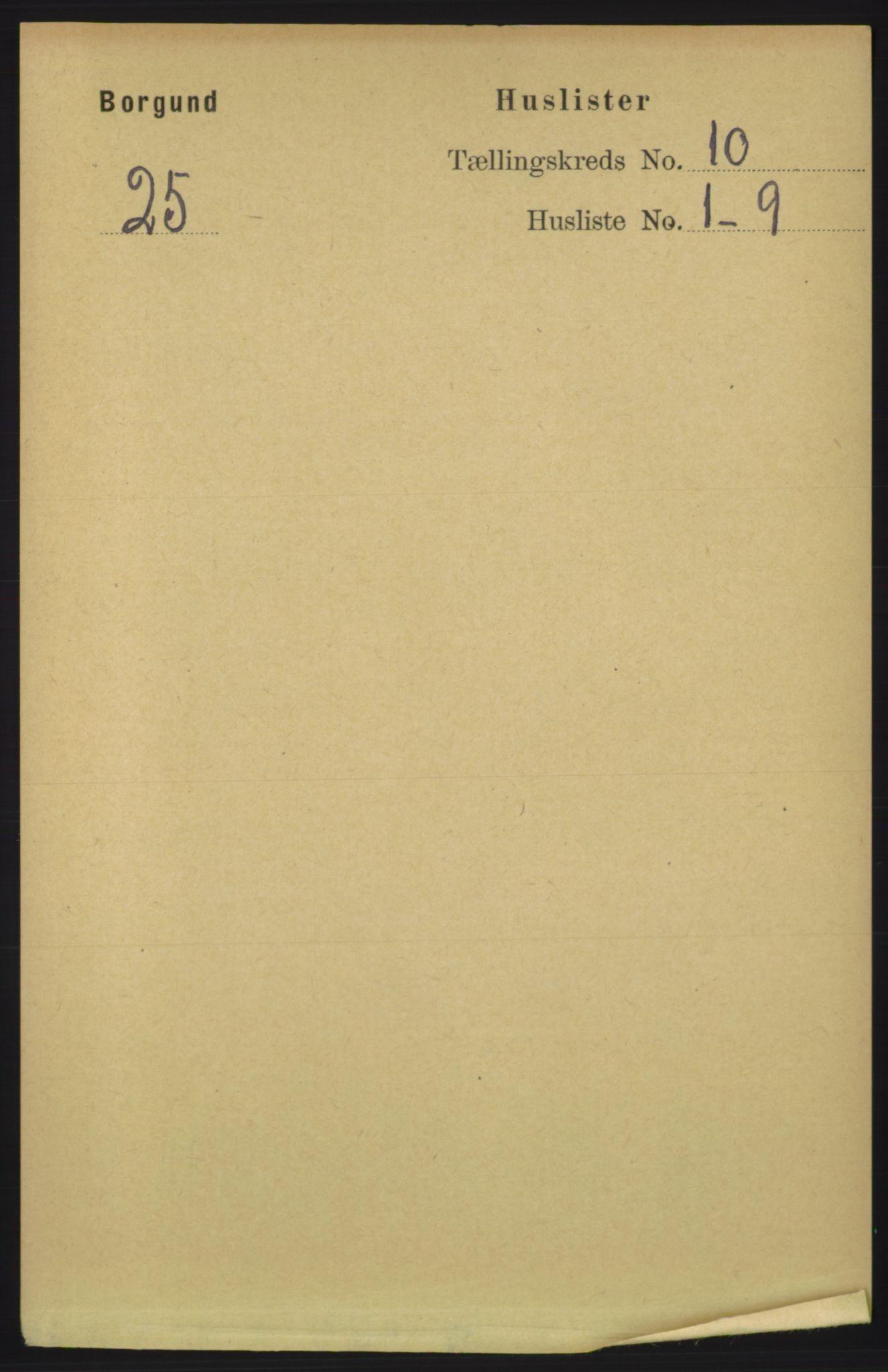 RA, Folketelling 1891 for 1531 Borgund herred, 1891, s. 2613