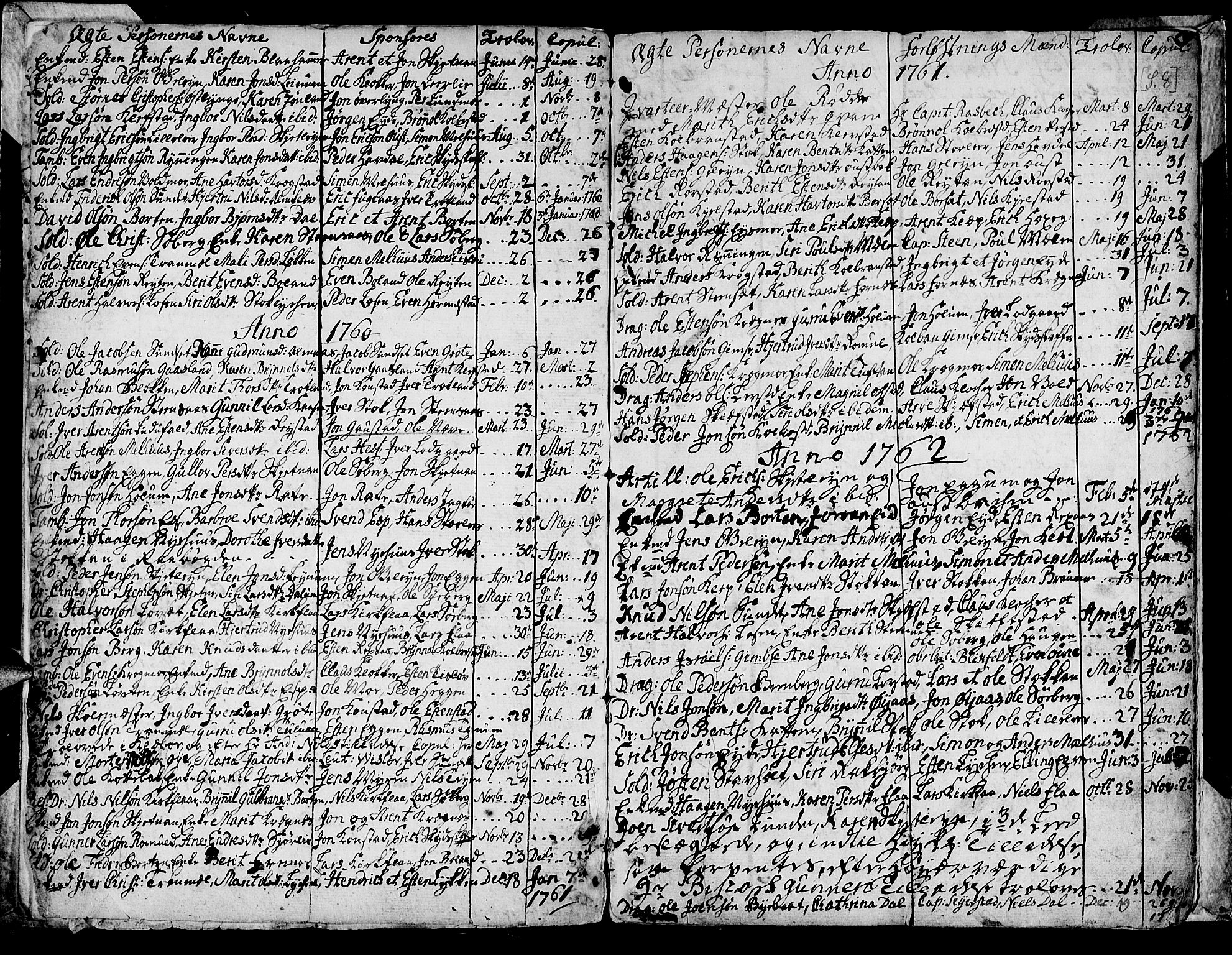 SAT, Ministerialprotokoller, klokkerbøker og fødselsregistre - Sør-Trøndelag, 691/L1057: Ministerialbok nr. 691A01 /1, 1740-1767, s. 8