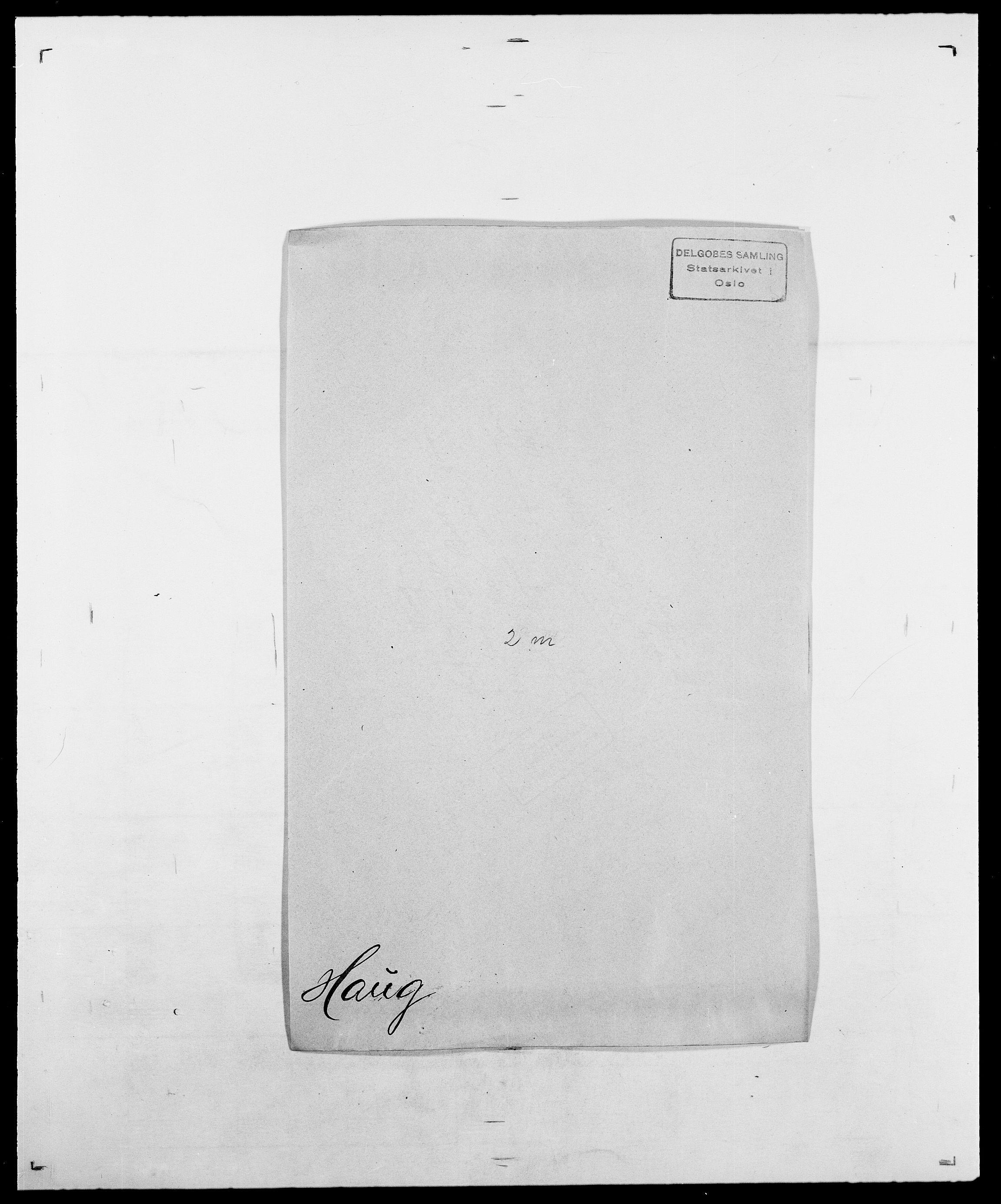 SAO, Delgobe, Charles Antoine - samling, D/Da/L0016: Hamborg - Hektoen, s. 586