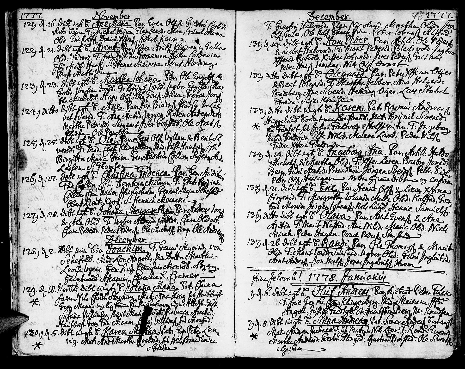 SAT, Ministerialprotokoller, klokkerbøker og fødselsregistre - Sør-Trøndelag, 601/L0039: Ministerialbok nr. 601A07, 1770-1819, s. 40