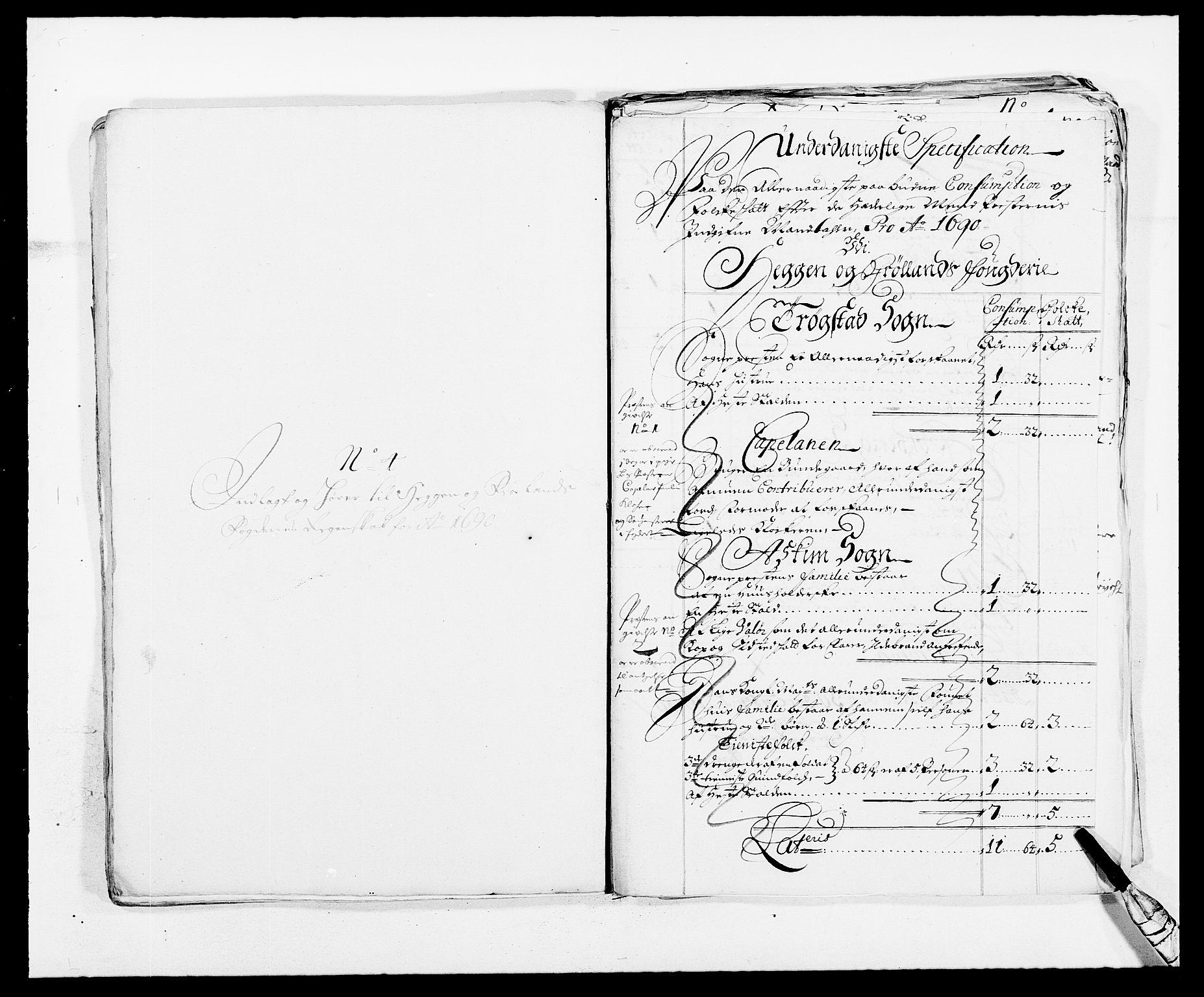 RA, Rentekammeret inntil 1814, Reviderte regnskaper, Fogderegnskap, R06/L0282: Fogderegnskap Heggen og Frøland, 1687-1690, s. 249