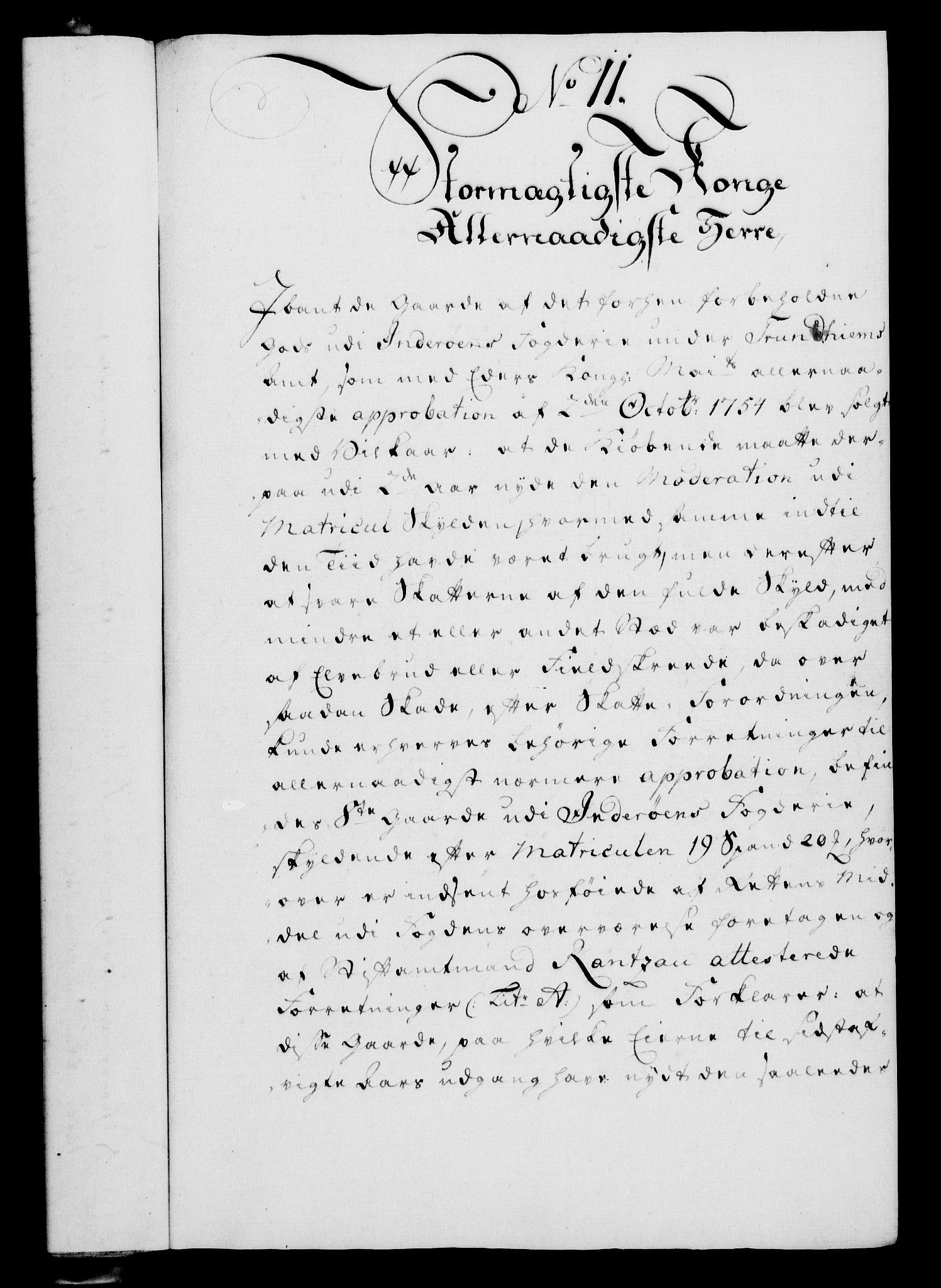 RA, Rentekammeret, Kammerkanselliet, G/Gf/Gfa/L0039: Norsk relasjons- og resolusjonsprotokoll (merket RK 52.39), 1757, s. 69