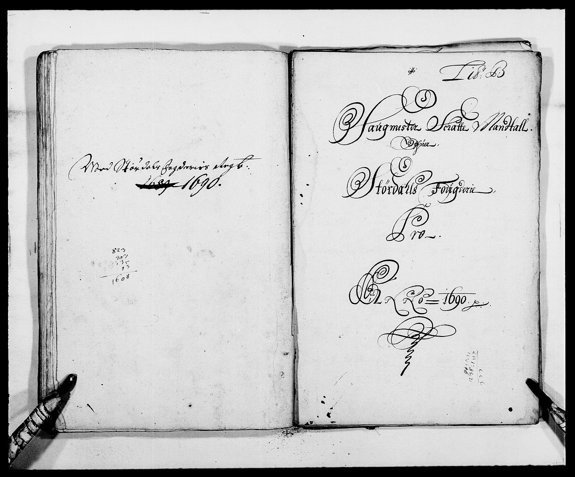 RA, Rentekammeret inntil 1814, Reviderte regnskaper, Fogderegnskap, R62/L4184: Fogderegnskap Stjørdal og Verdal, 1690-1691, s. 74
