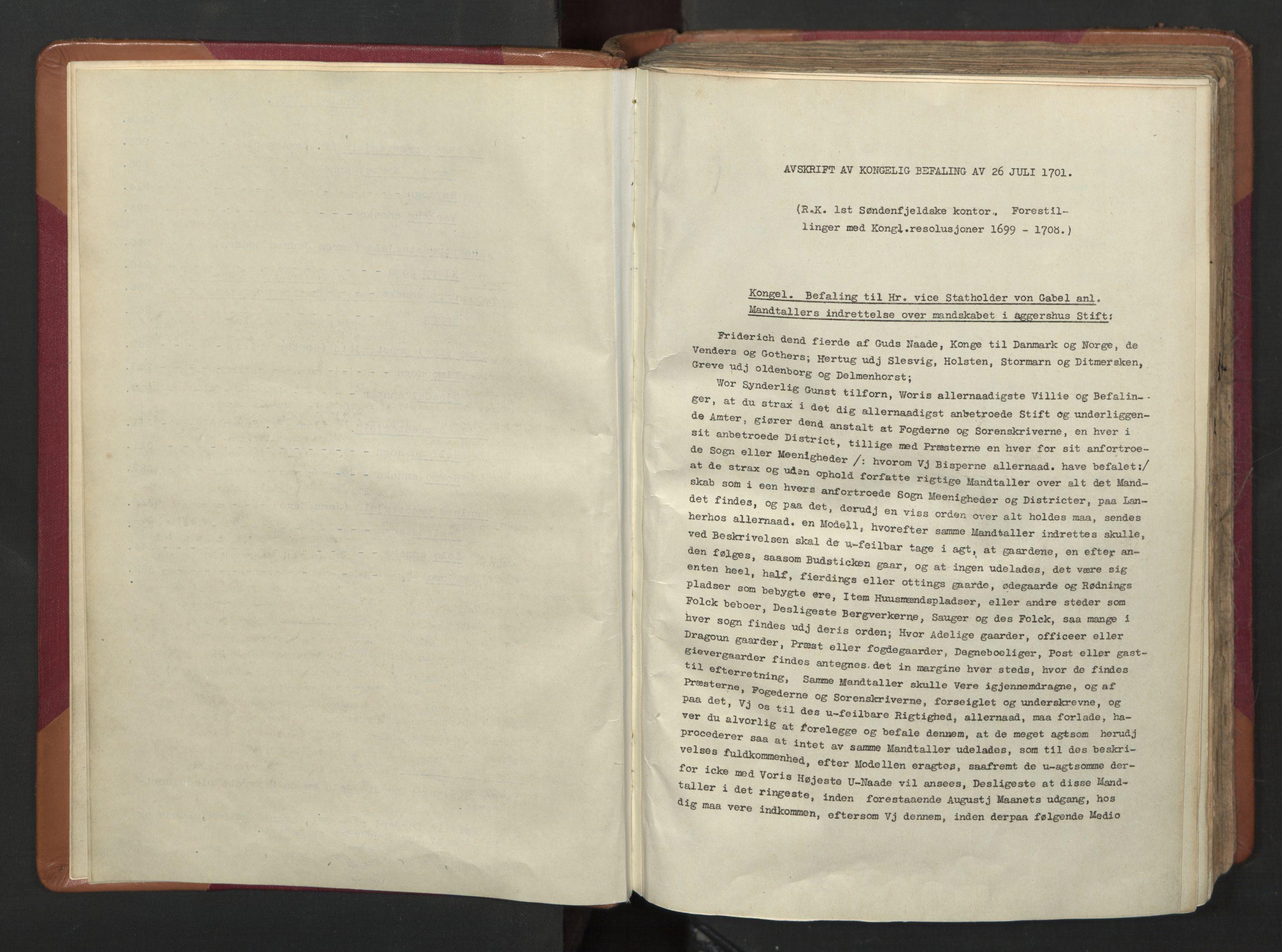 RA, Manntallet 1701, nr. 4: Jæren og Dalane fogderi, 1701