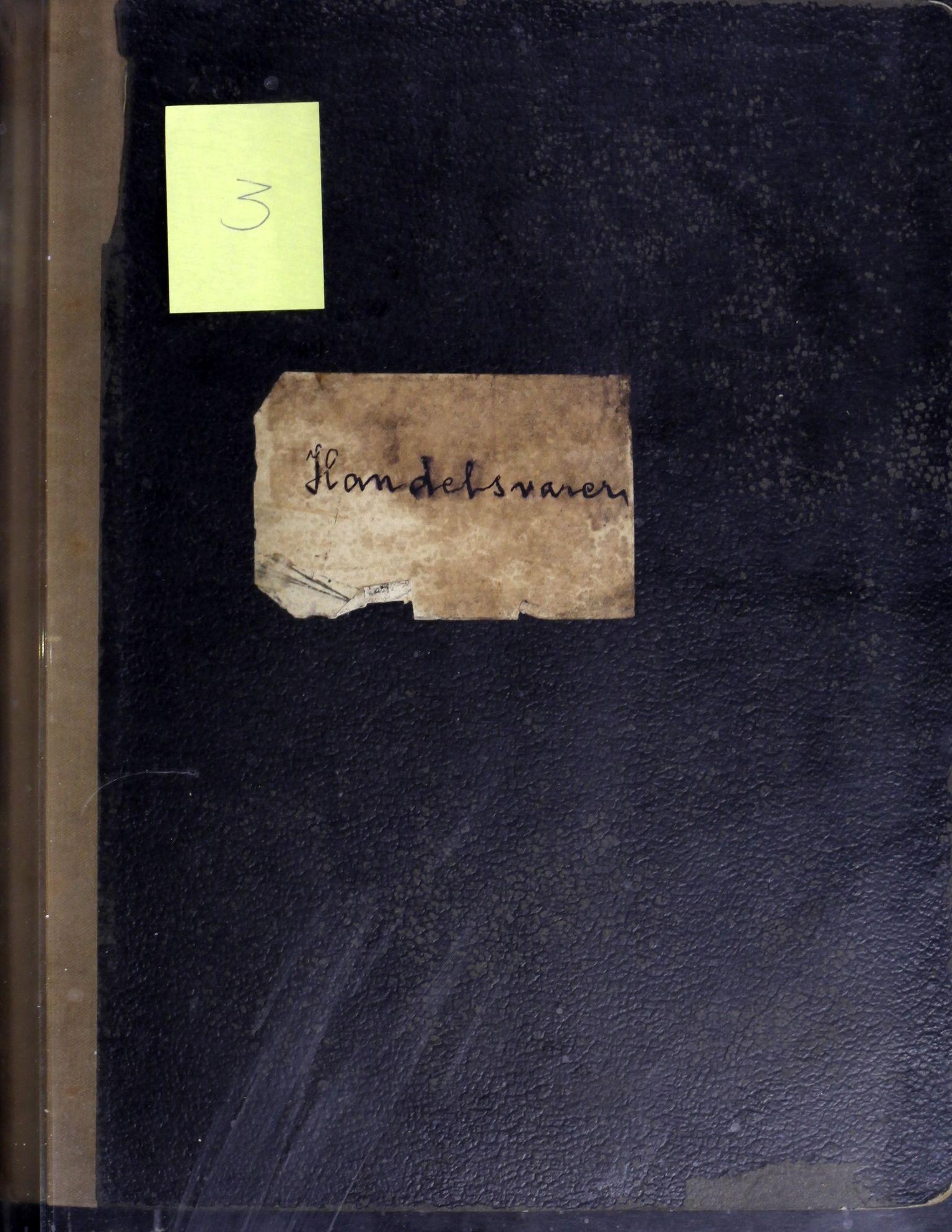 AIN, A/S Sulitjelma Gruber, B/Ba/L0003: Kopibok - Diverse adressater, 1890-1891