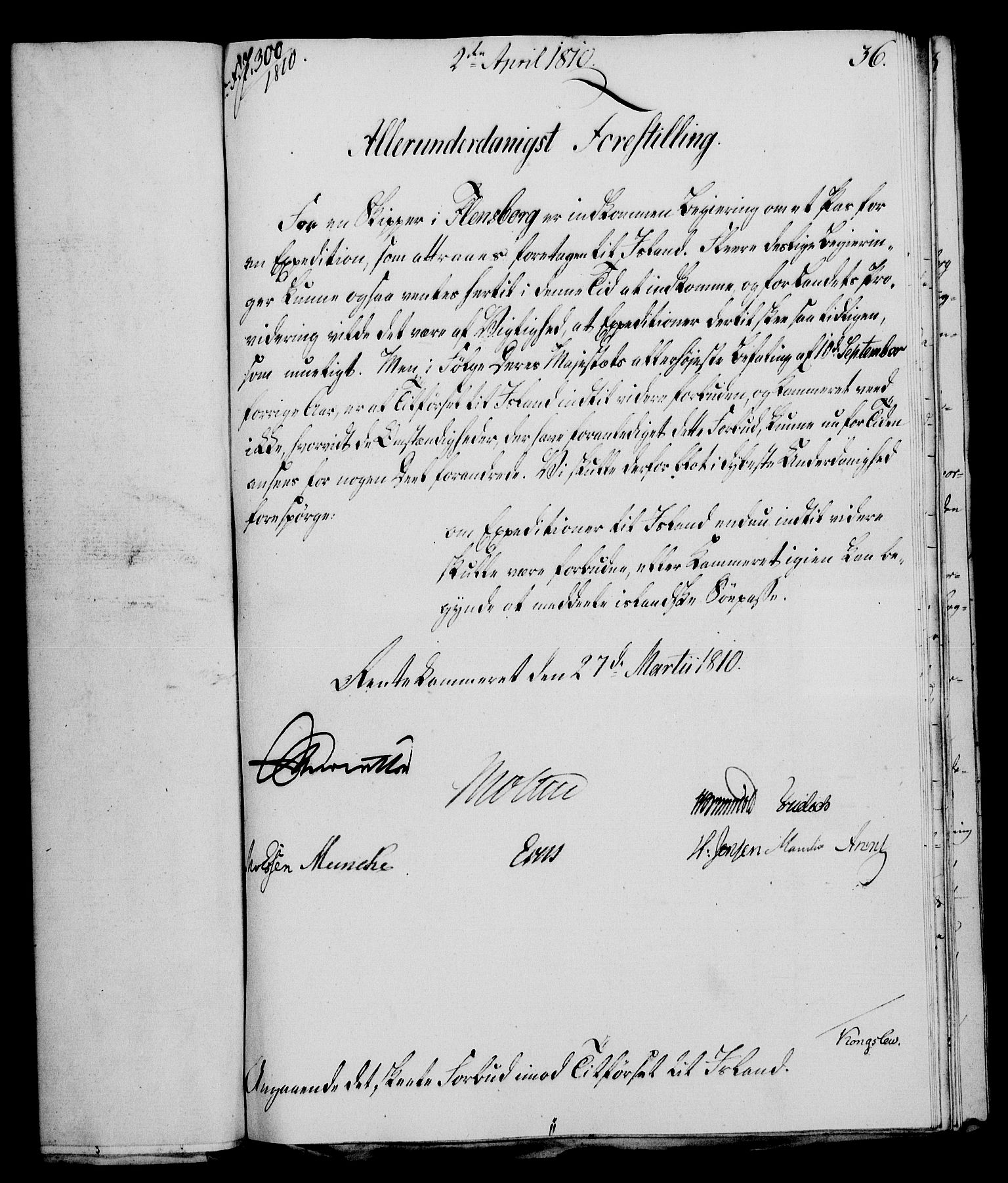 RA, Rentekammeret, Kammerkanselliet, G/Gf/Gfa/L0092: Norsk relasjons- og resolusjonsprotokoll (merket RK 52.92), 1810, s. 139