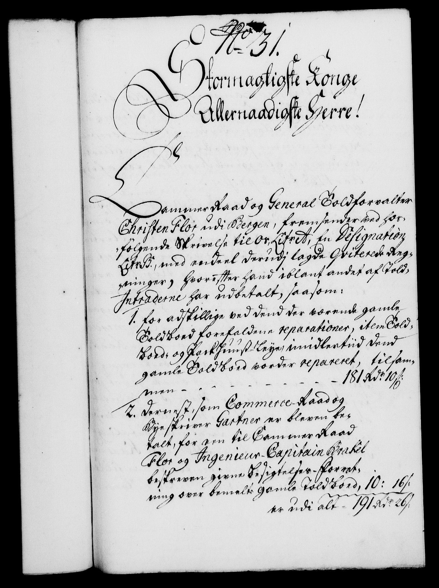 RA, Rentekammeret, Kammerkanselliet, G/Gf/Gfa/L0022: Norsk relasjons- og resolusjonsprotokoll (merket RK 52.22), 1739, s. 184