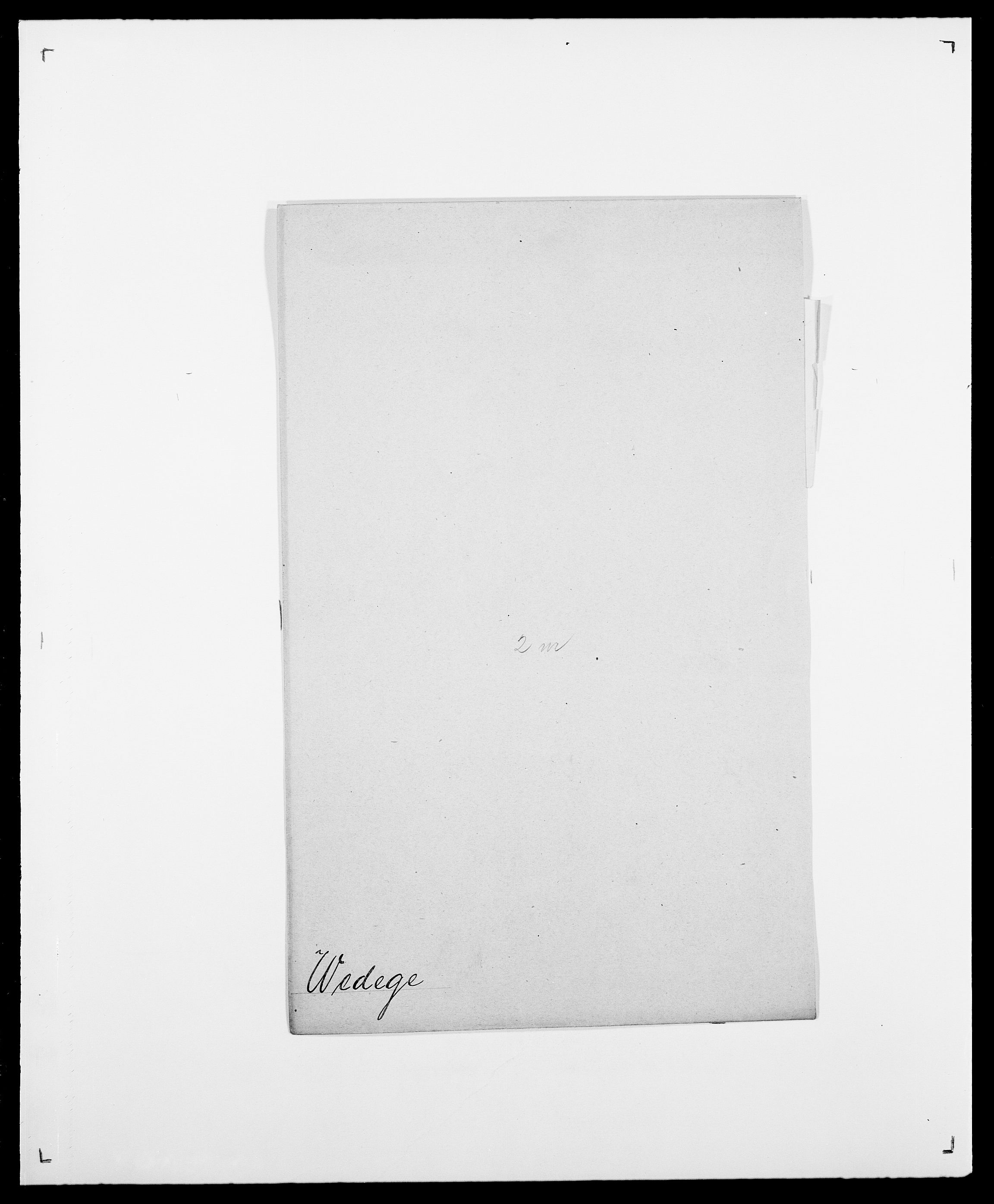 SAO, Delgobe, Charles Antoine - samling, D/Da/L0040: Usgaard - Velund, s. 429