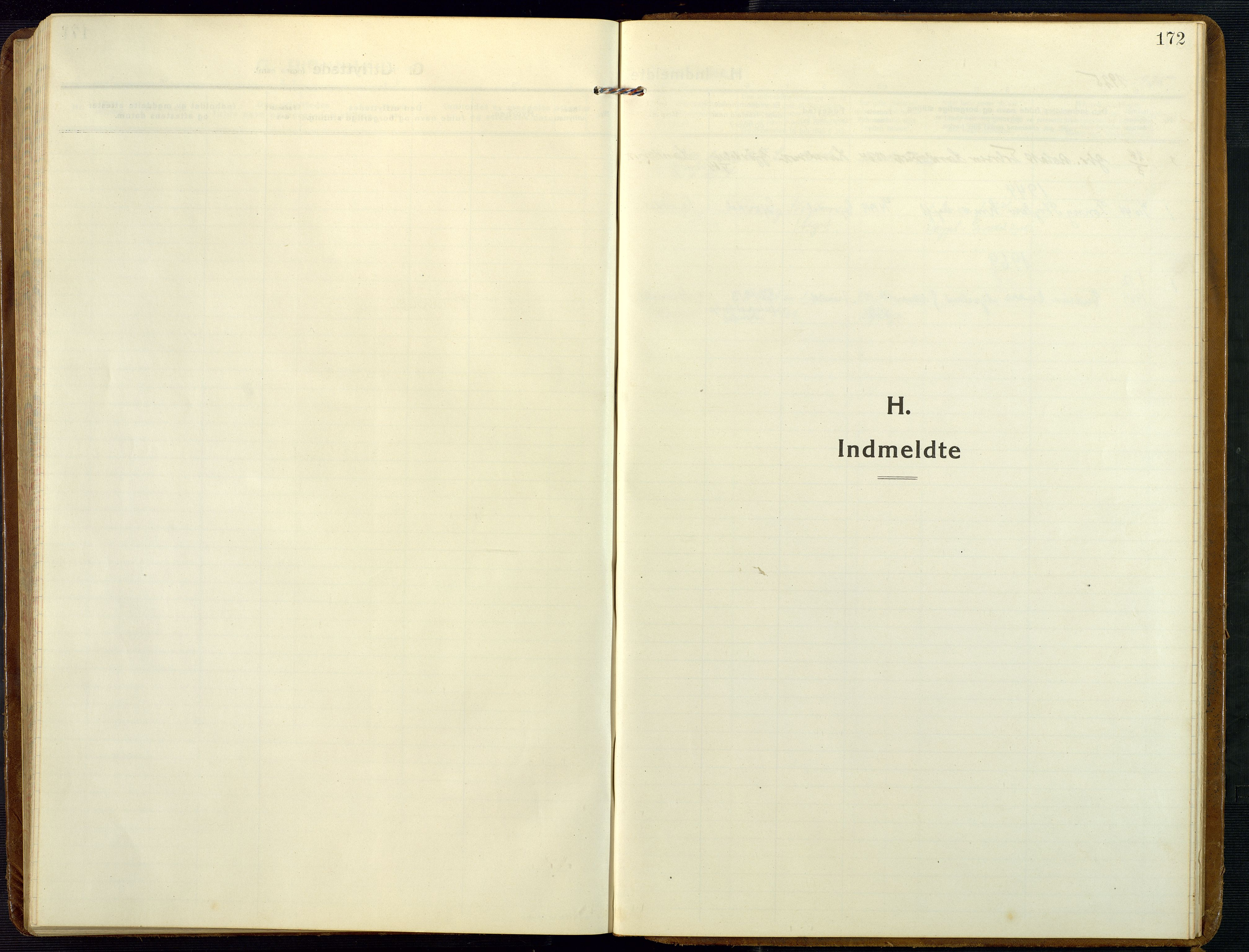 SAK, Åmli sokneprestkontor, F/Fb/Fba/L0003: Klokkerbok nr. B 3, 1912-1974, s. 172