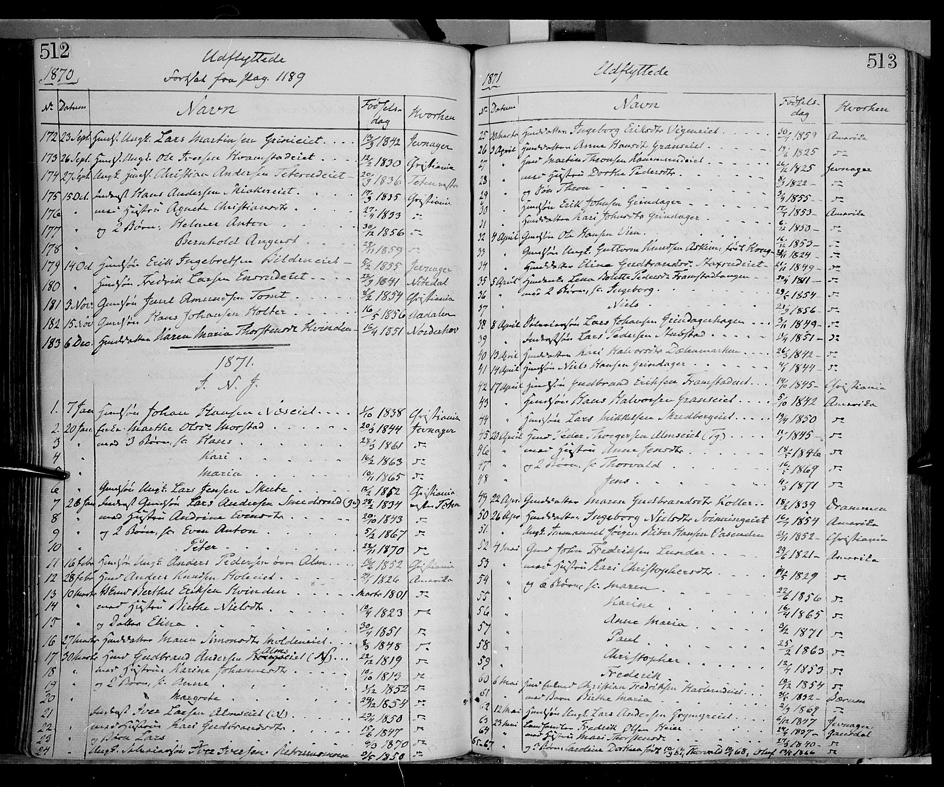SAH, Gran prestekontor, Ministerialbok nr. 12, 1856-1874, s. 512-513