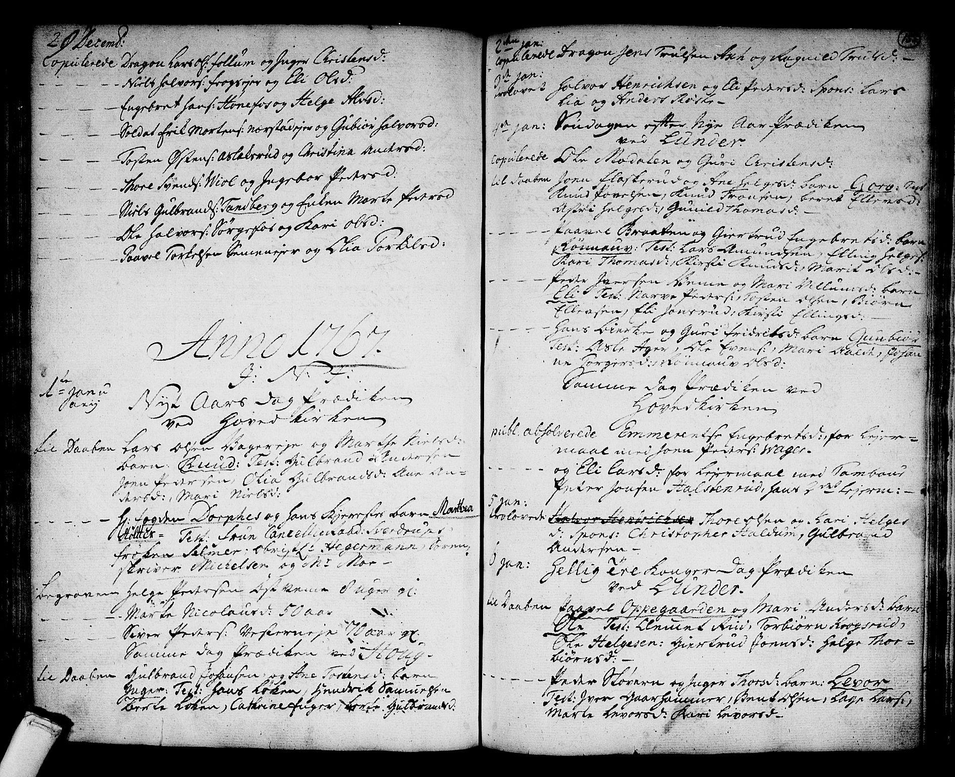 SAKO, Norderhov kirkebøker, F/Fa/L0004: Ministerialbok nr. 4, 1758-1774, s. 155