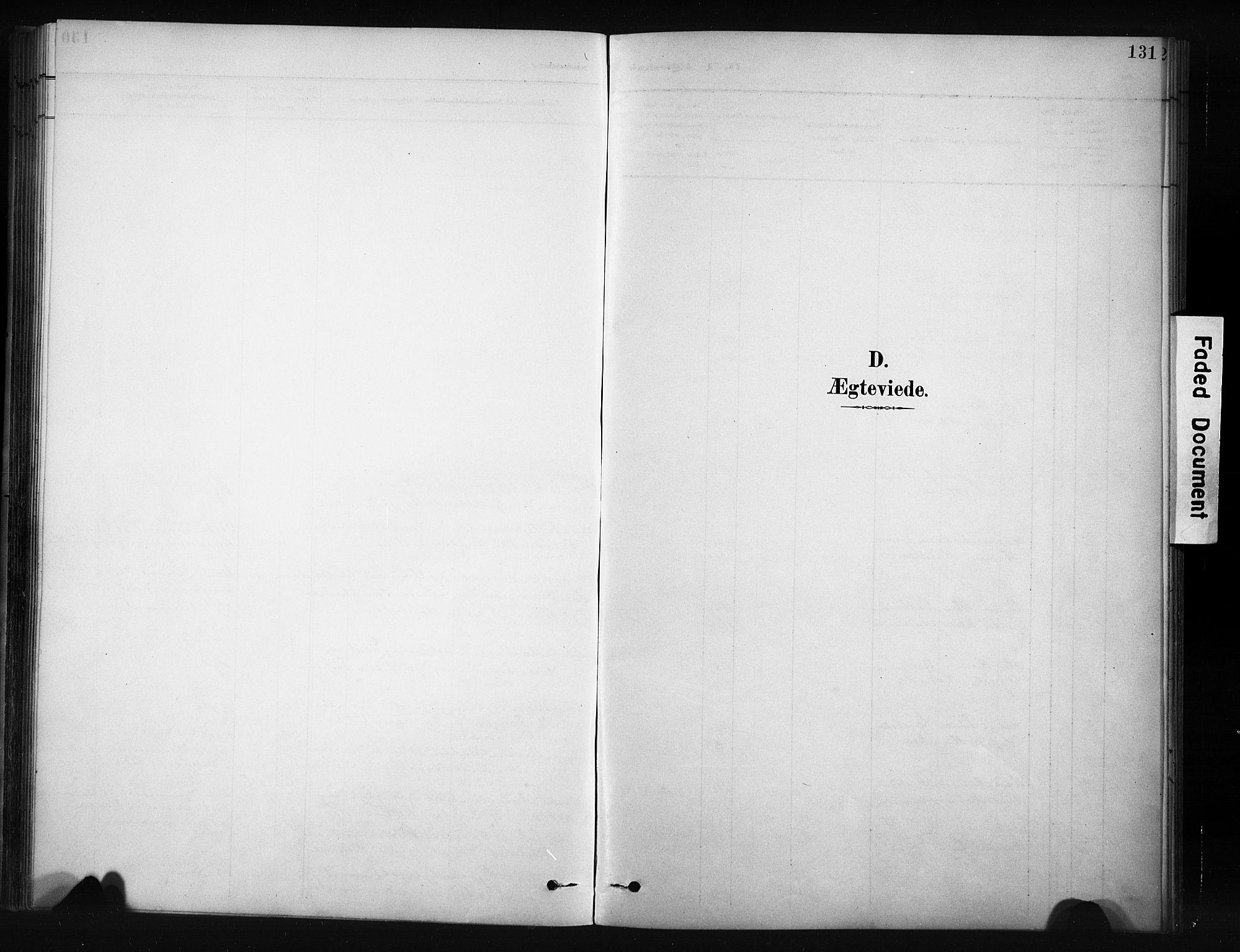 SAH, Nordre Land prestekontor, Klokkerbok nr. 12, 1891-1909, s. 131