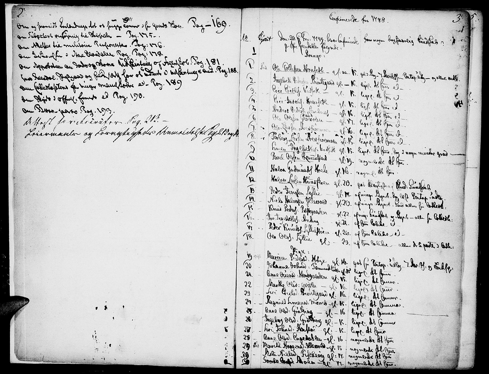 SAH, Rendalen prestekontor, H/Ha/Haa/L0002: Ministerialbok nr. 2, 1788-1814, s. 2-3
