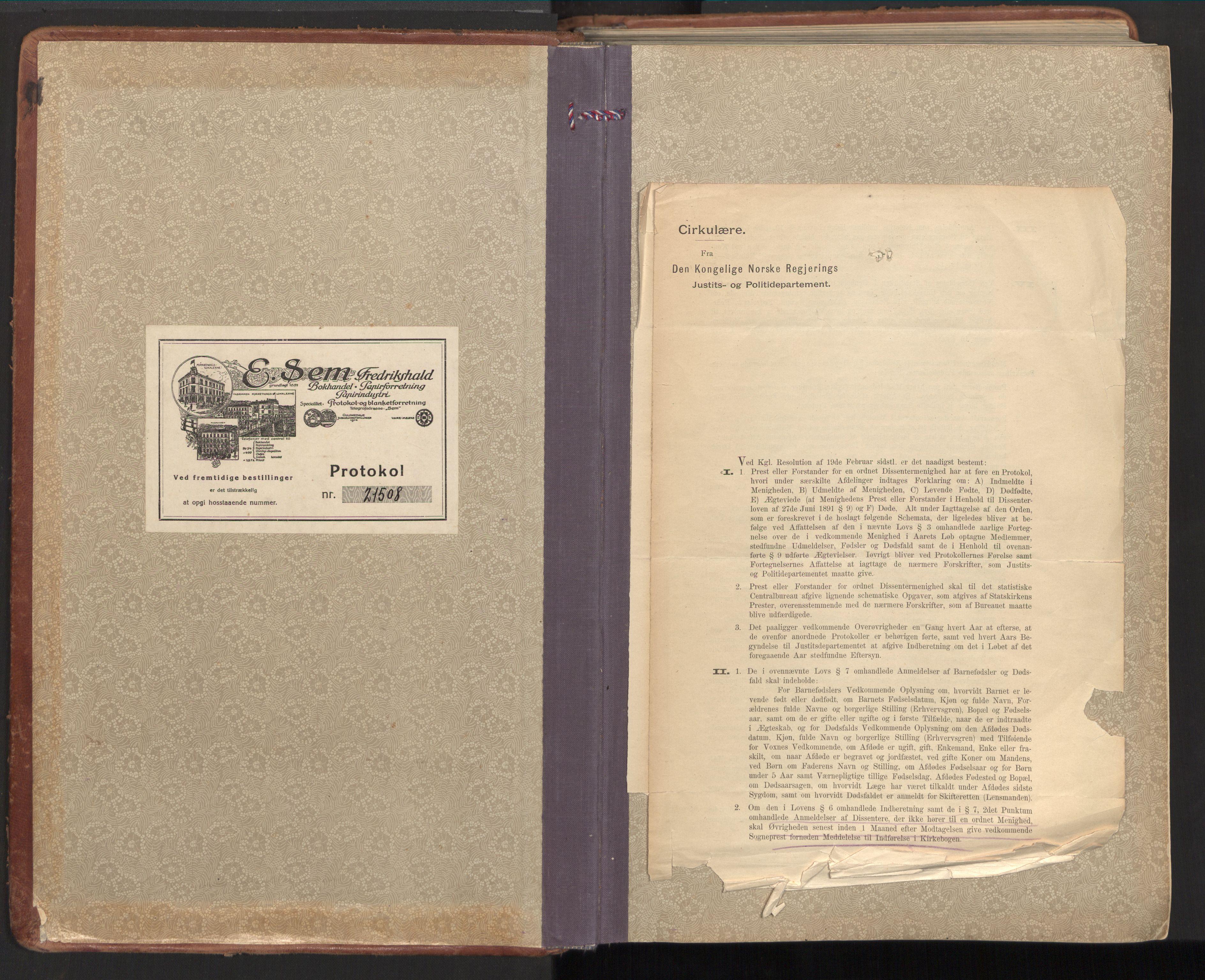 SAT, Ministerialprotokoller, klokkerbøker og fødselsregistre - Nord-Trøndelag, 784/L0678: Ministerialbok nr. 784A13, 1921-1938