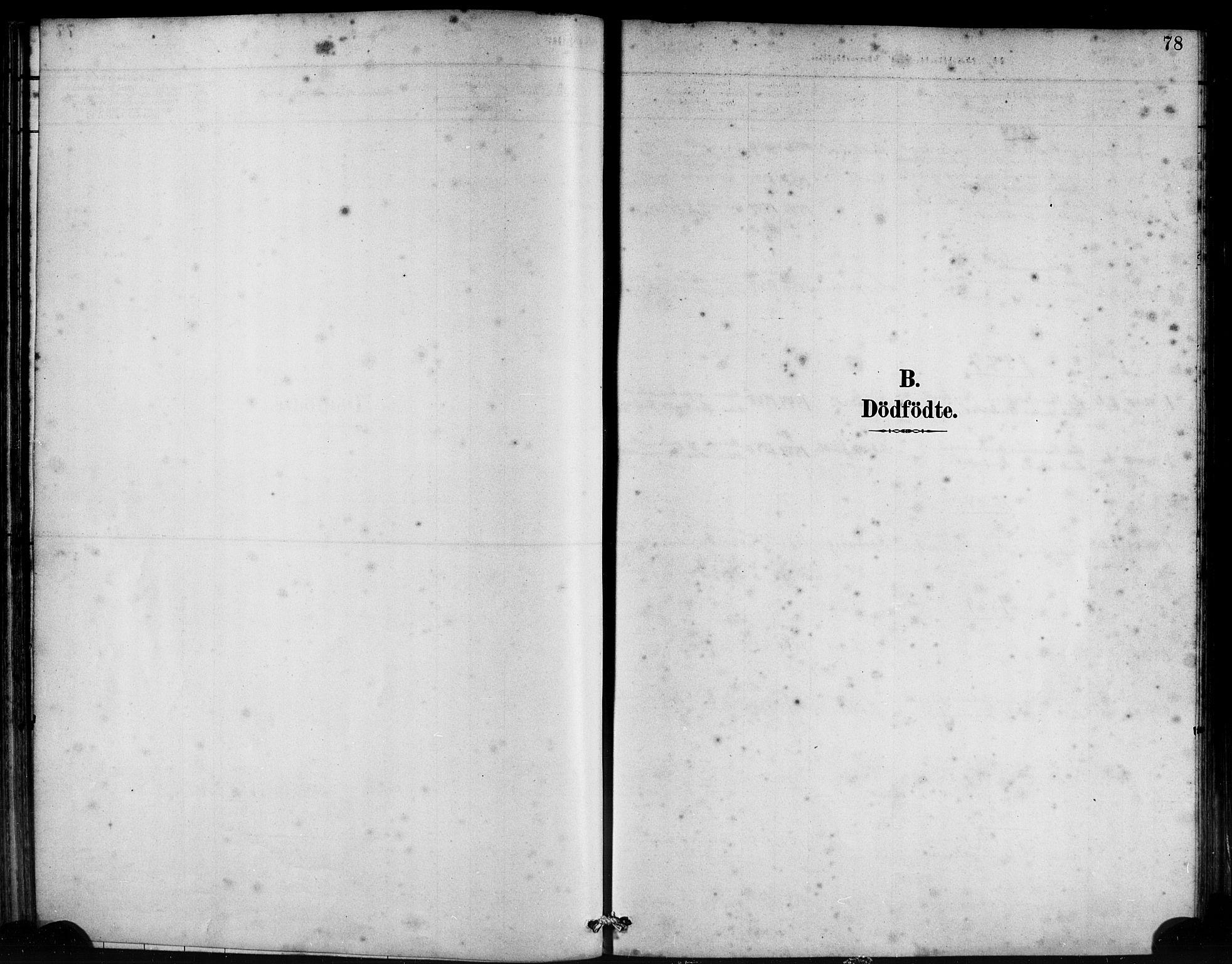 SAB, Bremanger Sokneprestembete, H/Haa: Ministerialbok nr. B 1, 1884-1895, s. 78