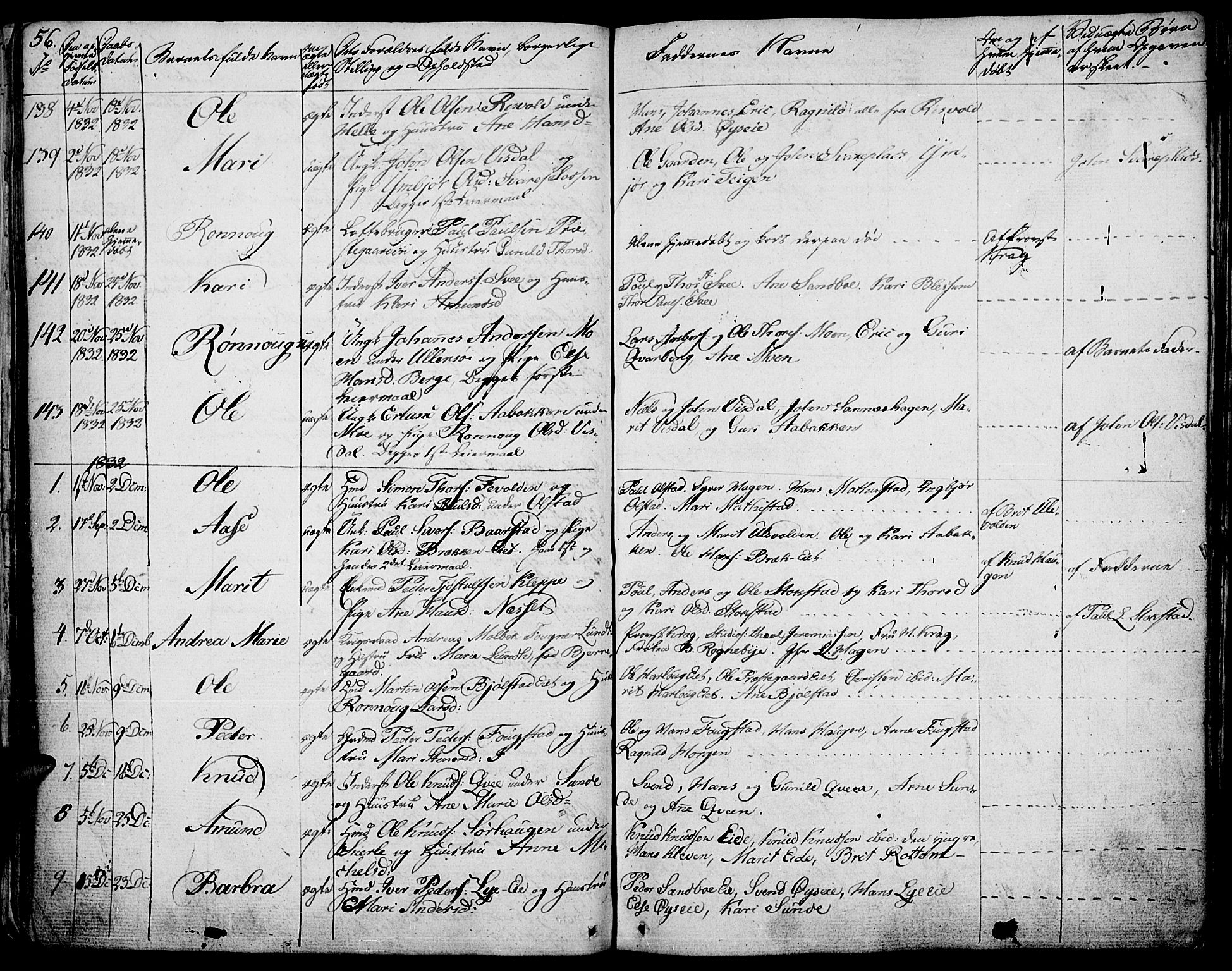 SAH, Vågå prestekontor, Ministerialbok nr. 4 /1, 1827-1842, s. 56