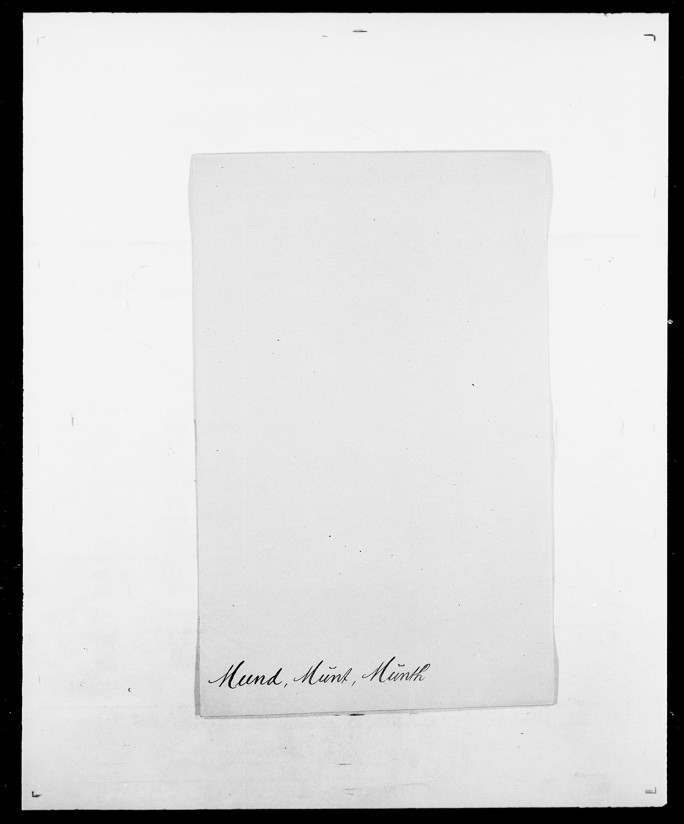 SAO, Delgobe, Charles Antoine - samling, D/Da/L0027: Morath - v. Møsting, s. 224