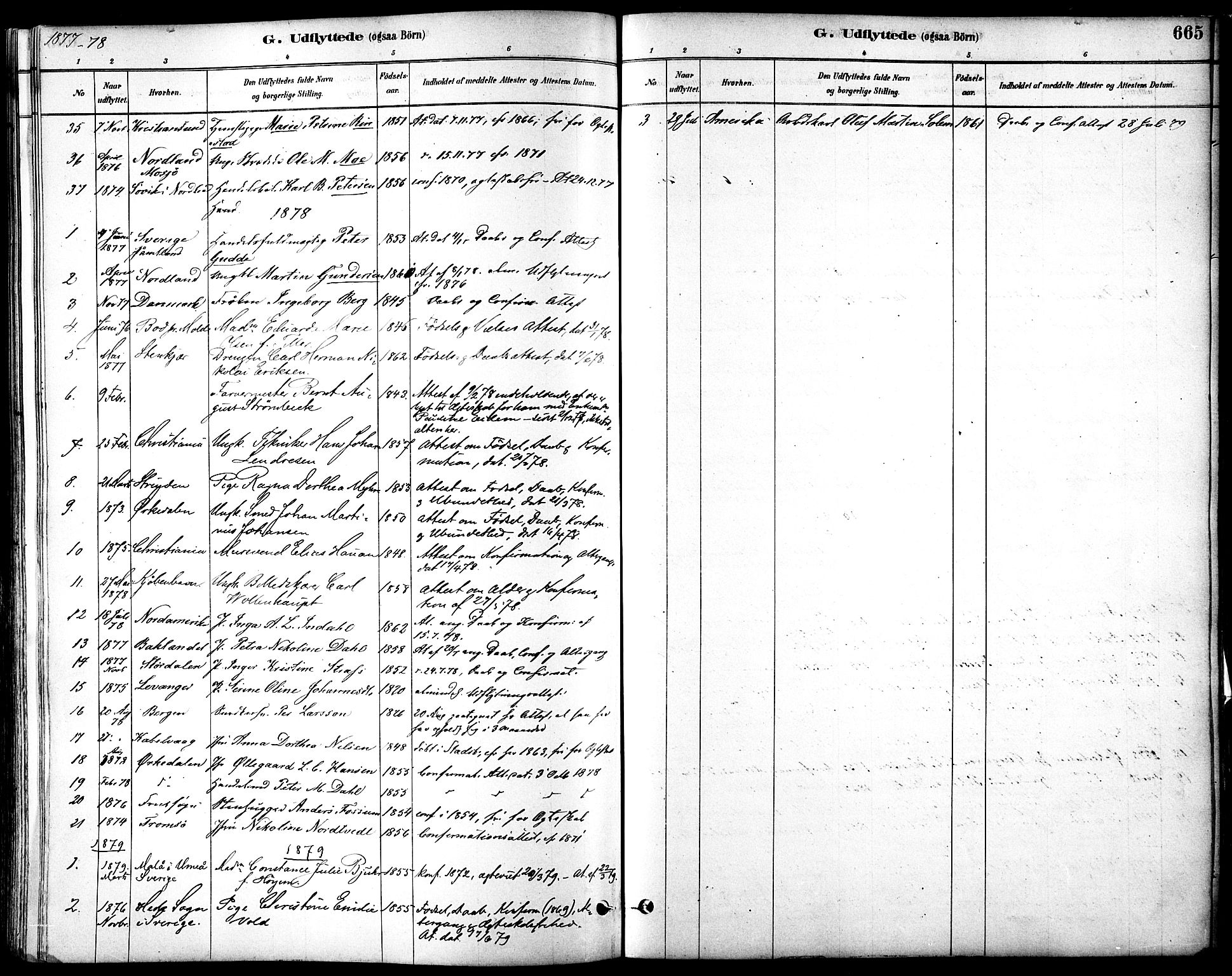 SAT, Ministerialprotokoller, klokkerbøker og fødselsregistre - Sør-Trøndelag, 601/L0058: Ministerialbok nr. 601A26, 1877-1891, s. 665