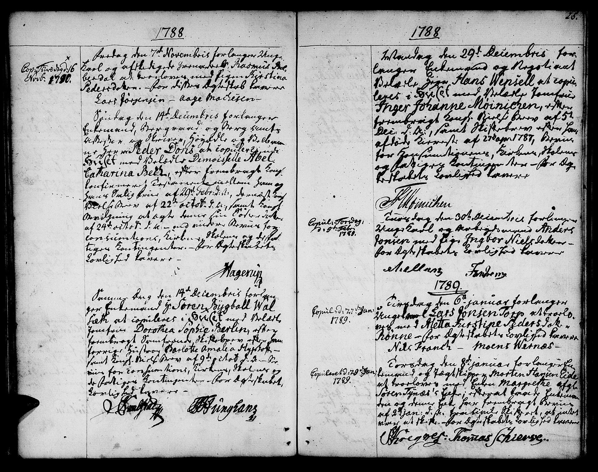 SAT, Ministerialprotokoller, klokkerbøker og fødselsregistre - Sør-Trøndelag, 601/L0041: Ministerialbok nr. 601A09, 1784-1801, s. 25