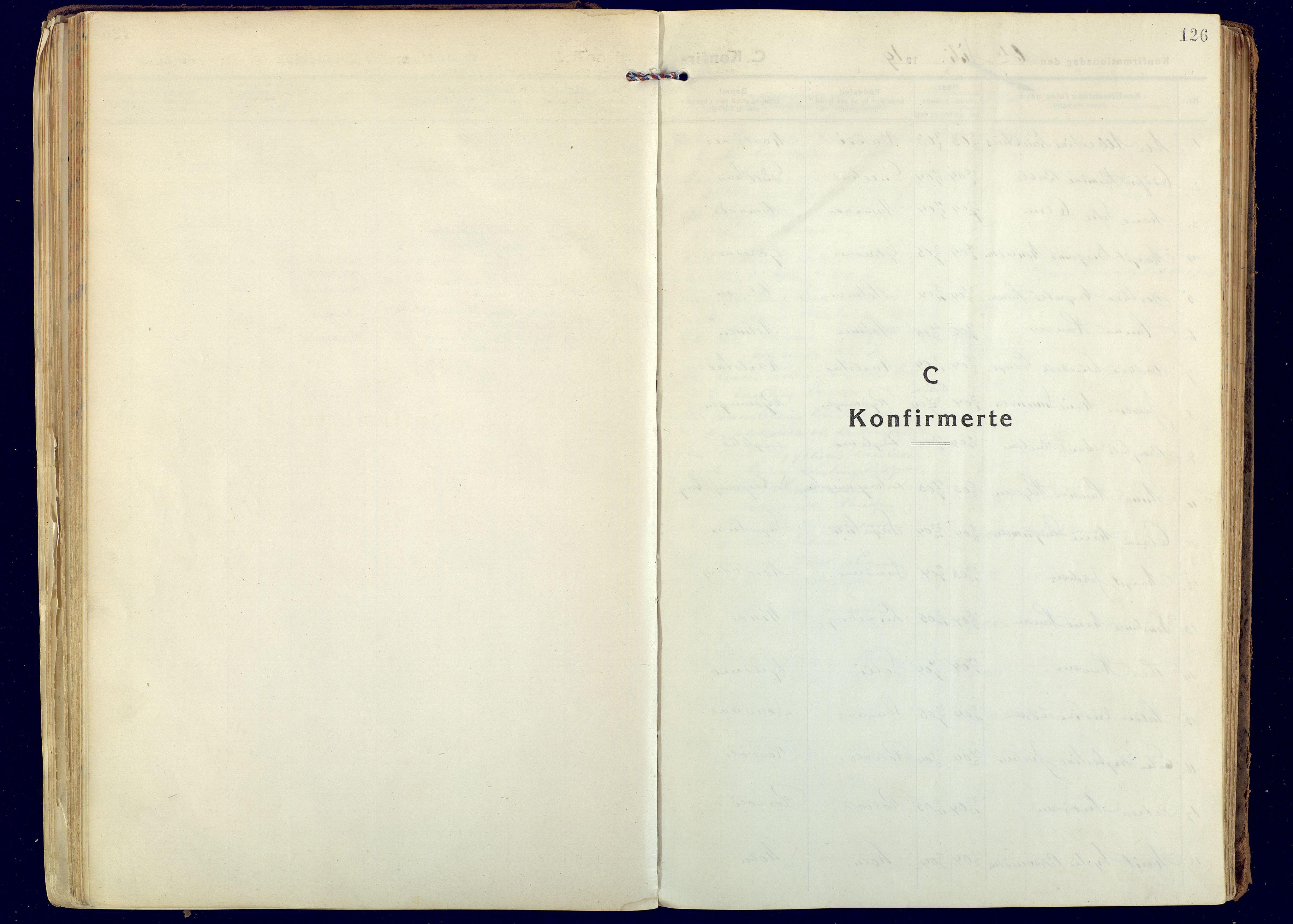 SATØ, Målselv sokneprestembete, Ministerialbok nr. 14, 1919-1932, s. 126