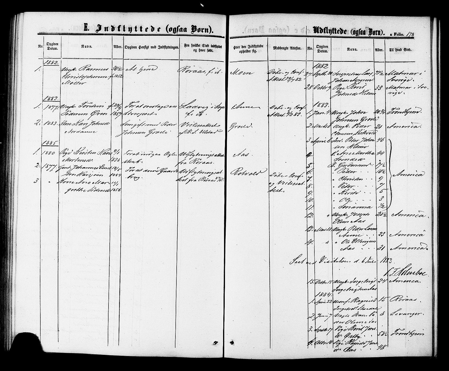 SAT, Ministerialprotokoller, klokkerbøker og fødselsregistre - Sør-Trøndelag, 698/L1163: Ministerialbok nr. 698A01, 1862-1887, s. 178