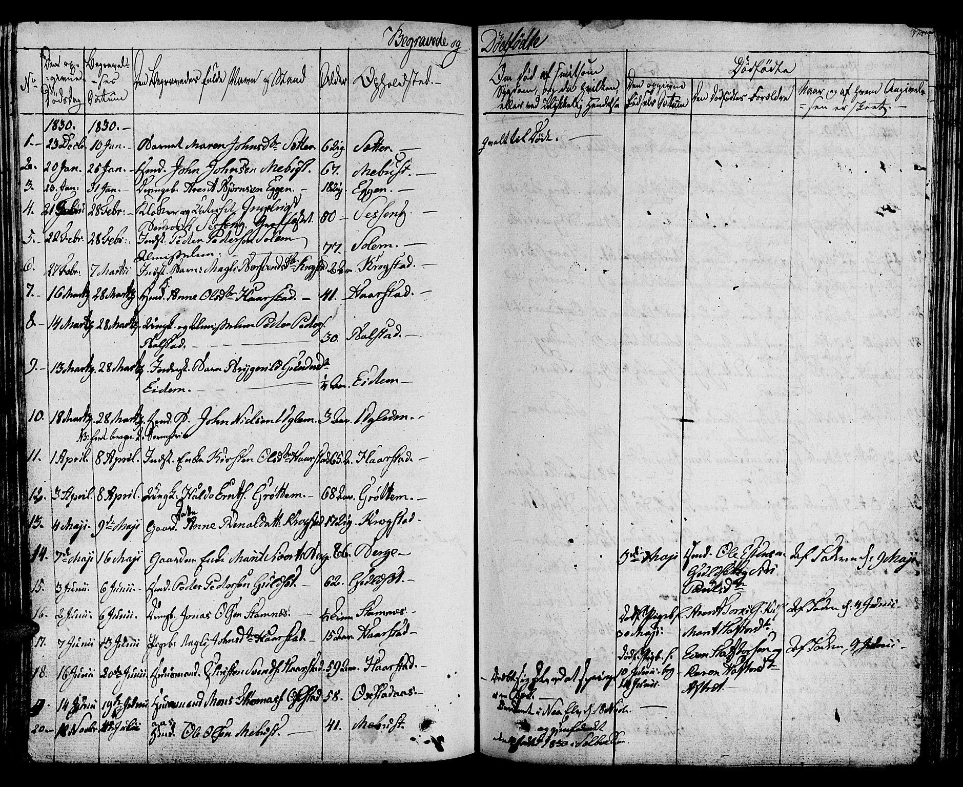 SAT, Ministerialprotokoller, klokkerbøker og fødselsregistre - Sør-Trøndelag, 695/L1143: Ministerialbok nr. 695A05 /1, 1824-1842, s. 374