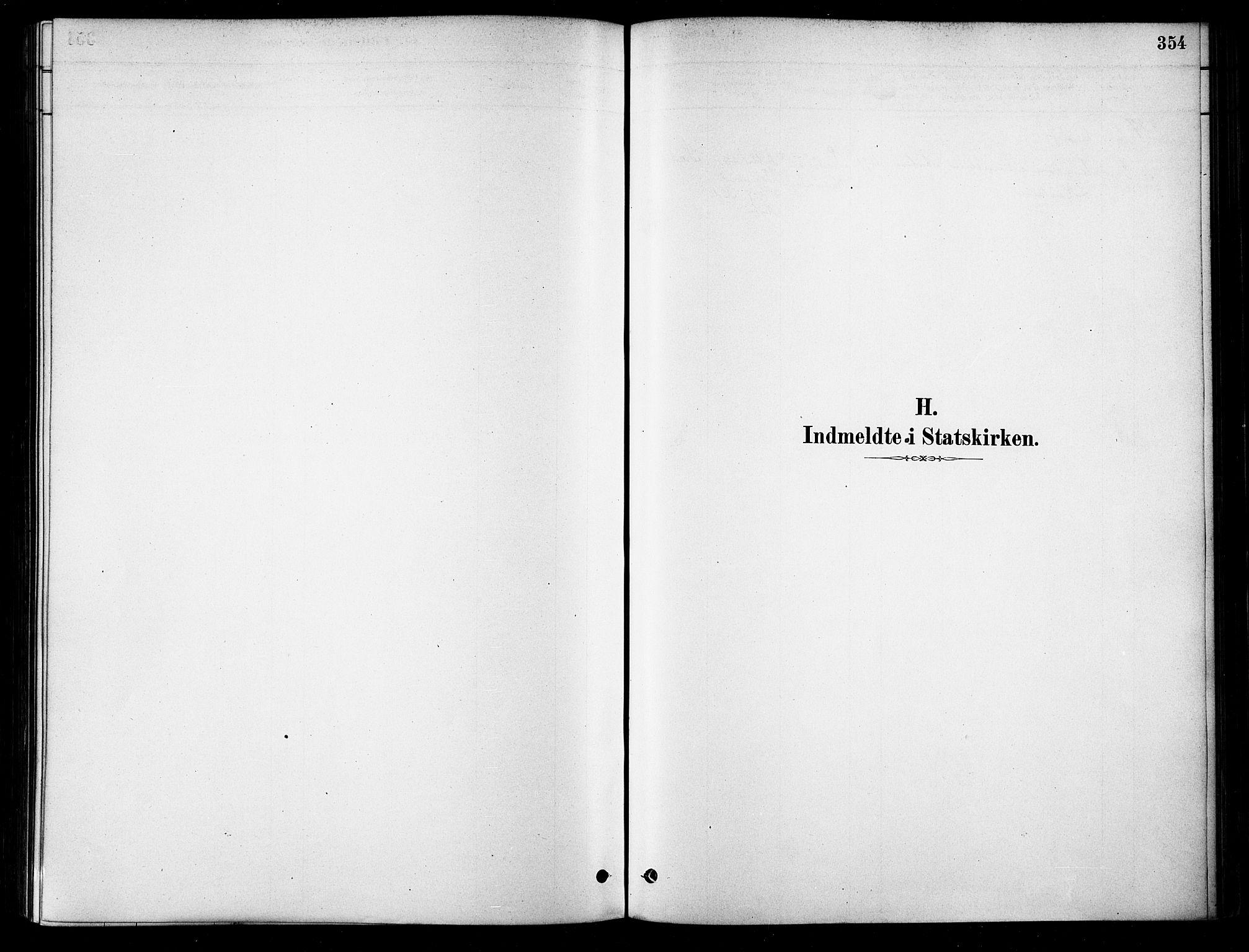 SATØ, Karlsøy sokneprestembete, H/Ha/Haa/L0006kirke: Ministerialbok nr. 6, 1879-1890, s. 354