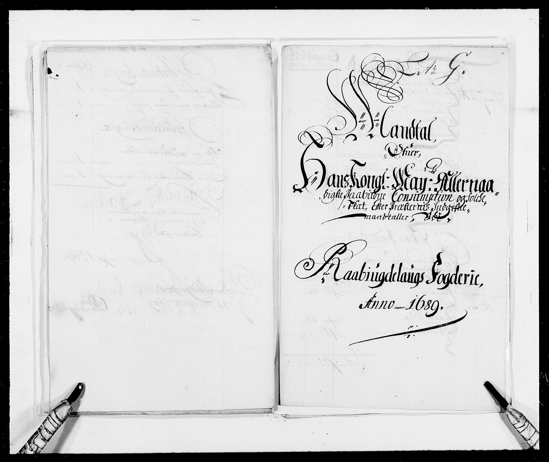 RA, Rentekammeret inntil 1814, Reviderte regnskaper, Fogderegnskap, R40/L2442: Fogderegnskap Råbyggelag, 1689-1690, s. 81