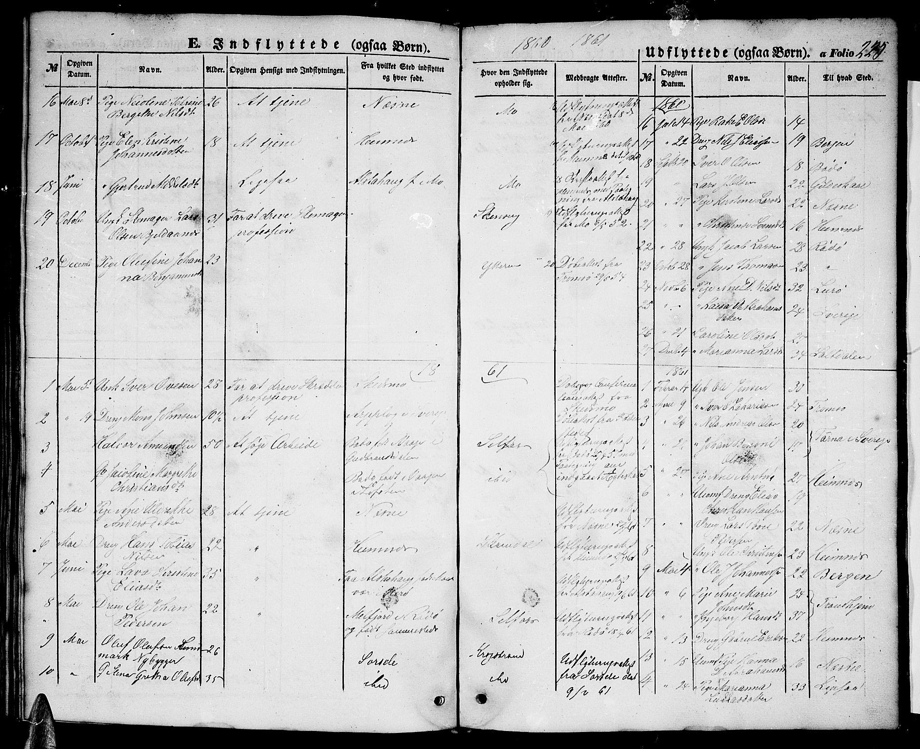 SAT, Ministerialprotokoller, klokkerbøker og fødselsregistre - Nordland, 827/L0414: Klokkerbok nr. 827C03, 1853-1865, s. 225