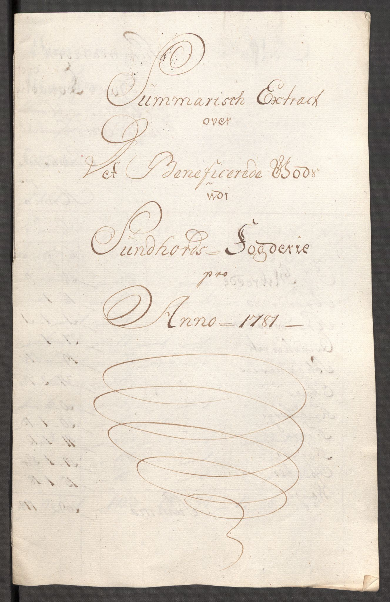 RA, Rentekammeret inntil 1814, Reviderte regnskaper, Fogderegnskap, R48/L3097: Fogderegnskap Sunnhordland og Hardanger, 1781, s. 348
