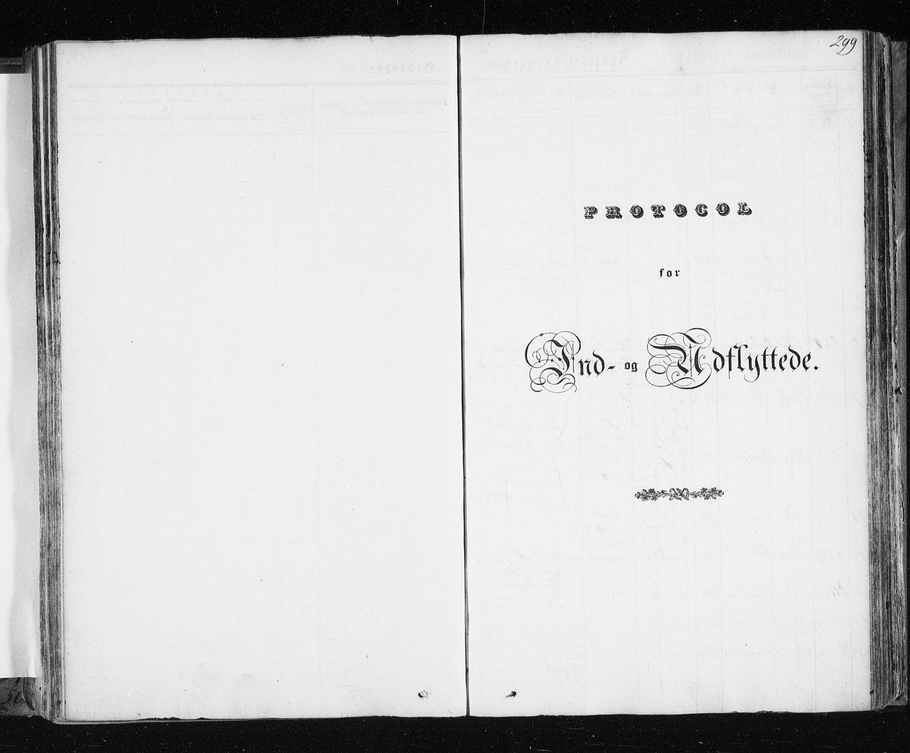 SATØ, Tromsø sokneprestkontor/stiftsprosti/domprosti, G/Ga/L0009kirke: Ministerialbok nr. 9, 1837-1847, s. 299