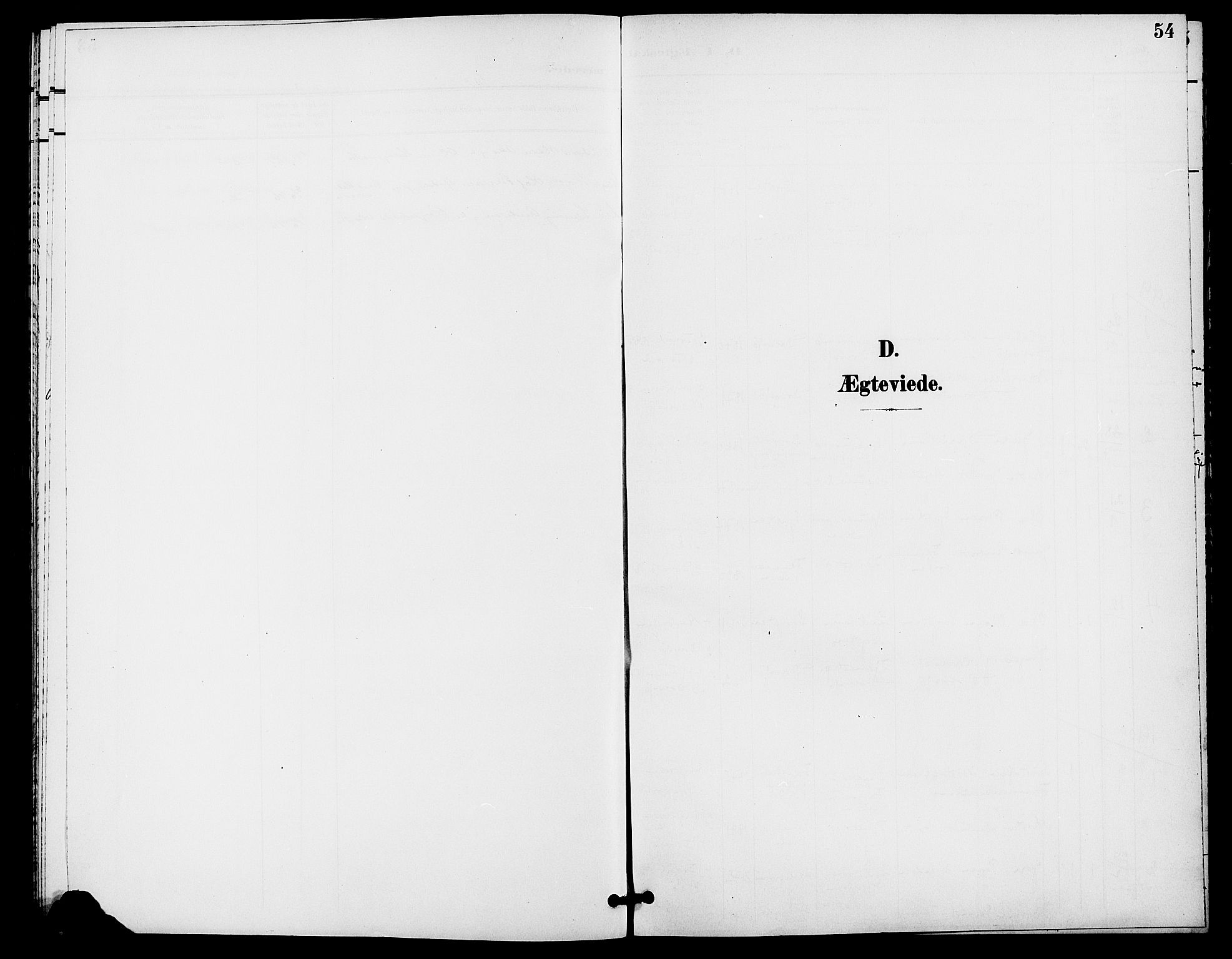 SAH, Rendalen prestekontor, H/Ha/Haa/L0008: Ministerialbok nr. 8, 1898-1910, s. 54
