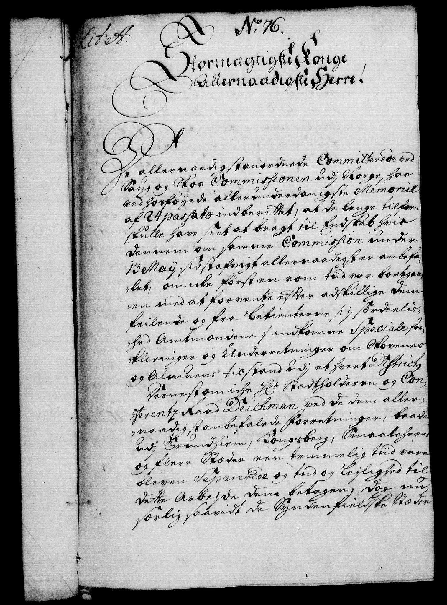 RA, Rentekammeret, Kammerkanselliet, G/Gf/Gfa/L0011: Norsk relasjons- og resolusjonsprotokoll (merket RK 52.11), 1728, s. 589