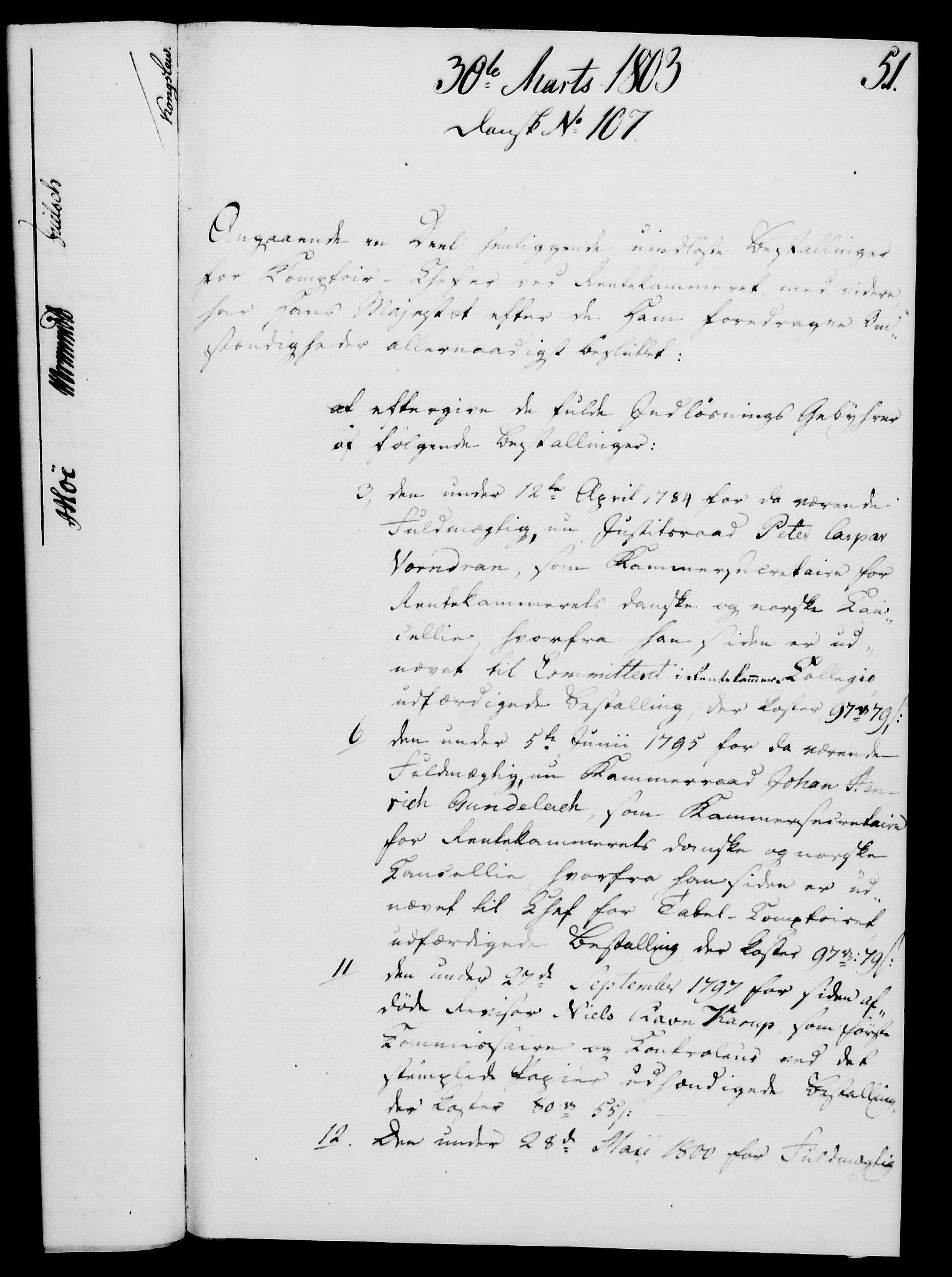 RA, Rentekammeret, Kammerkanselliet, G/Gf/Gfa/L0085: Norsk relasjons- og resolusjonsprotokoll (merket RK 52.85), 1803, s. 341