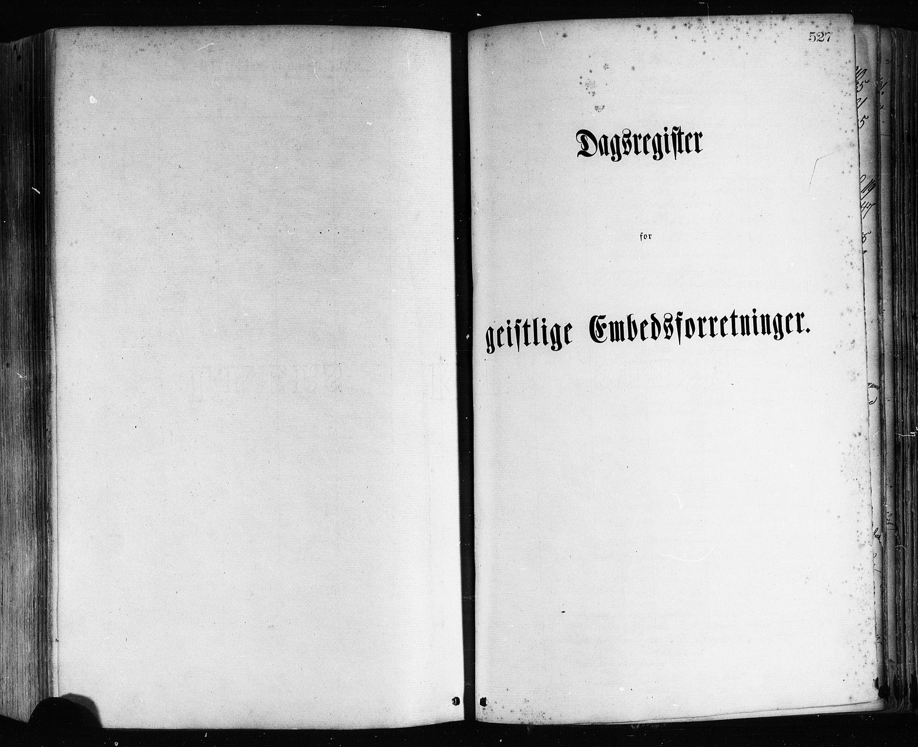 SAB, Hamre sokneprestembete, H/Ha/Haa/Haaa/L0015: Ministerialbok nr. A 15, 1870-1881, s. 527