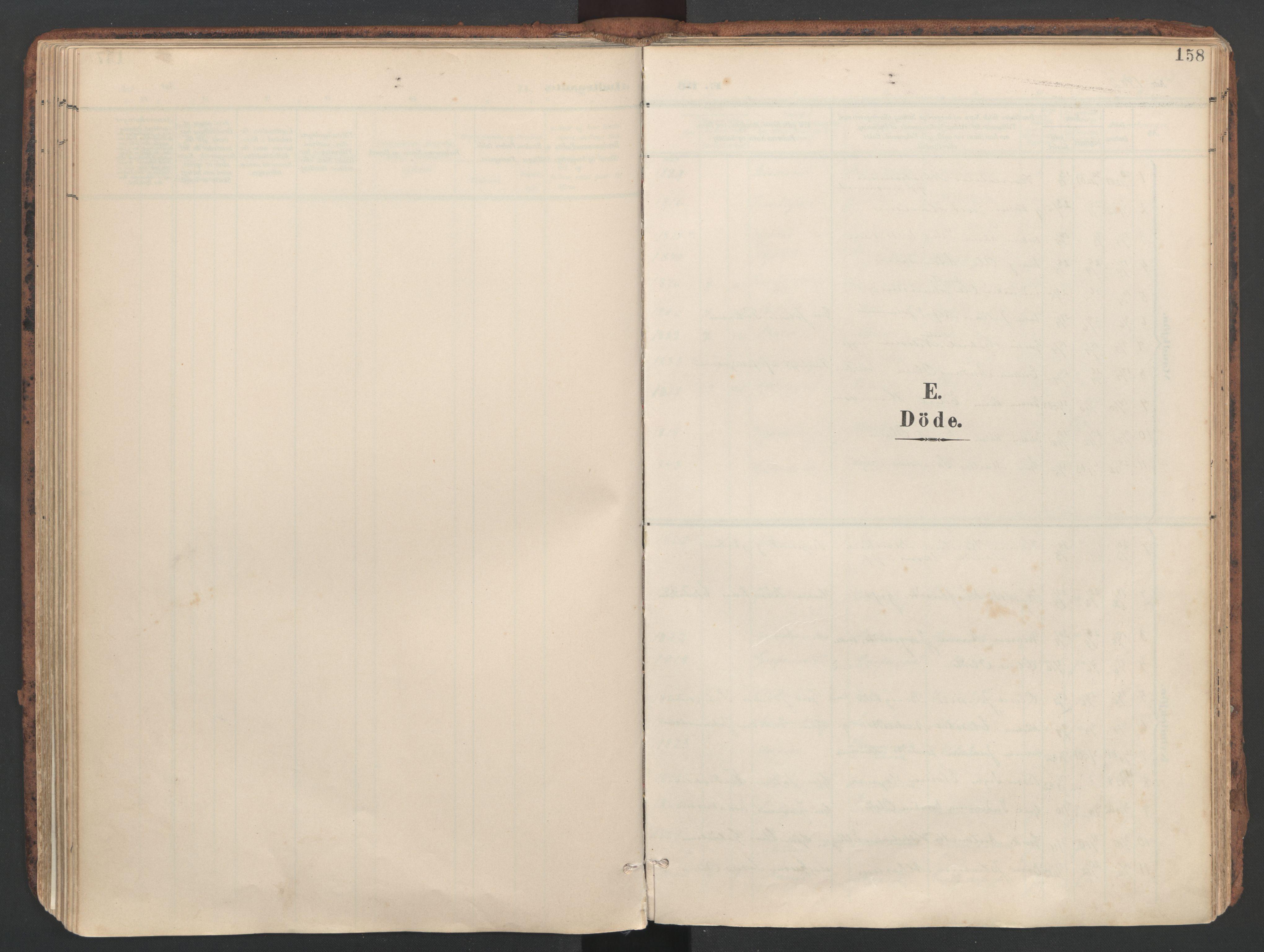 SAT, Ministerialprotokoller, klokkerbøker og fødselsregistre - Sør-Trøndelag, 634/L0537: Ministerialbok nr. 634A13, 1896-1922, s. 158