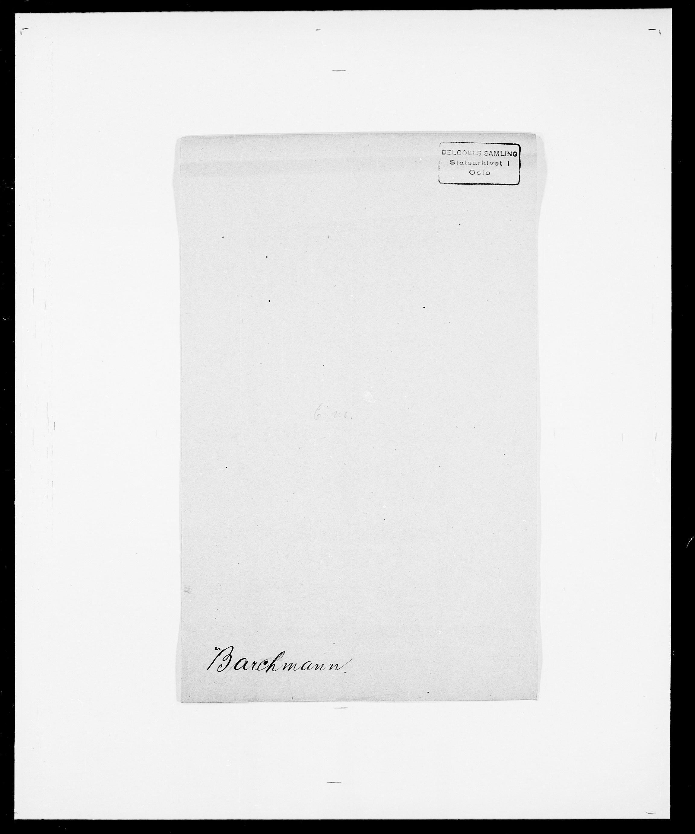 SAO, Delgobe, Charles Antoine - samling, D/Da/L0003: Barca - Bergen, s. 295